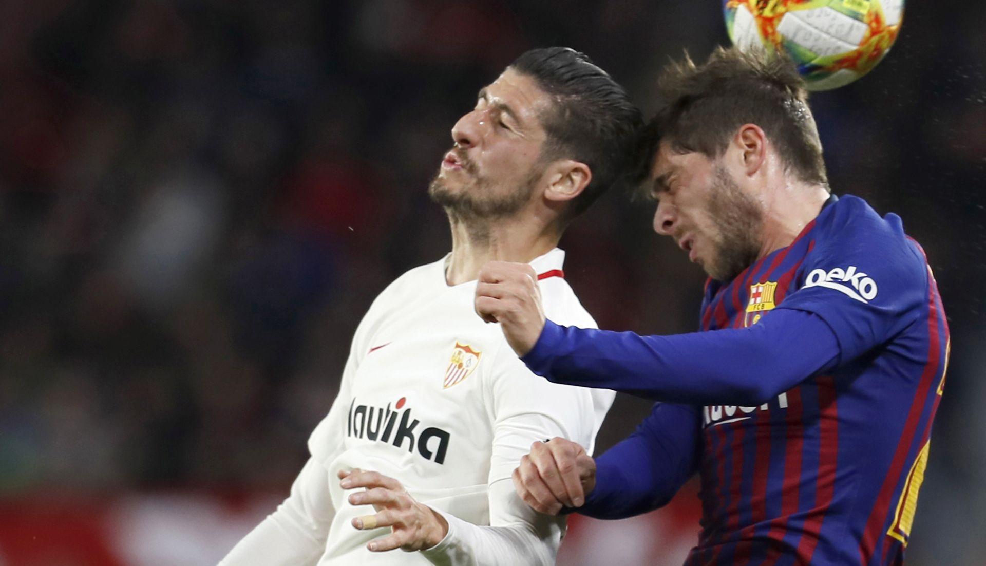 KUP KRALJA Sevilla svladala Barcelonu u prvoj utakmici četvrtfinala