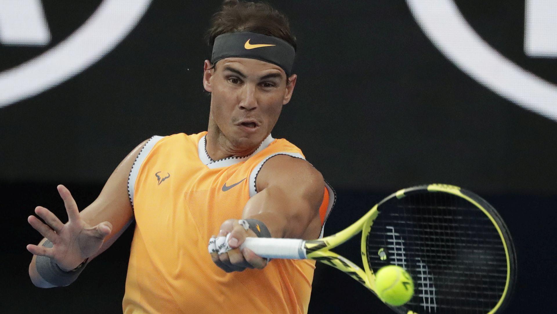 AUSTRALIAN OPEN Rafael Nadal uvjerljivo do 25. Grand Slam finala