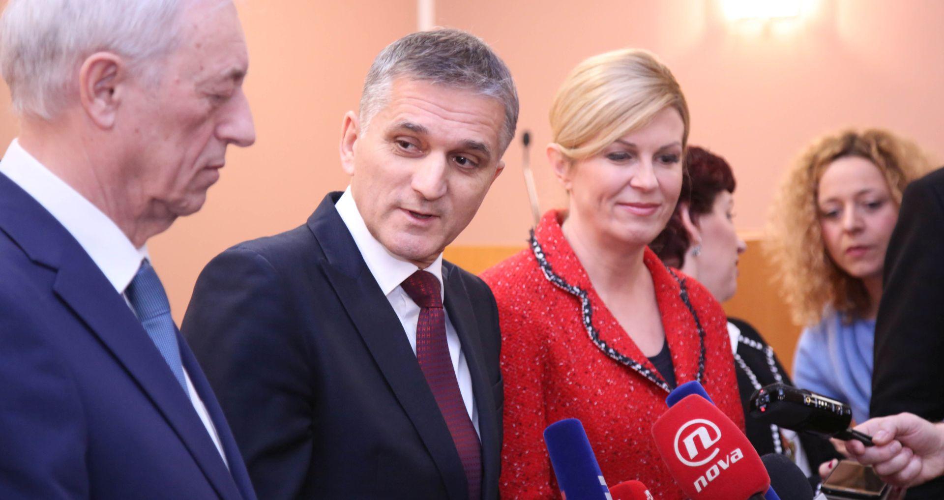 Predsjednica pohvalila rad Ministarstva državne imovine
