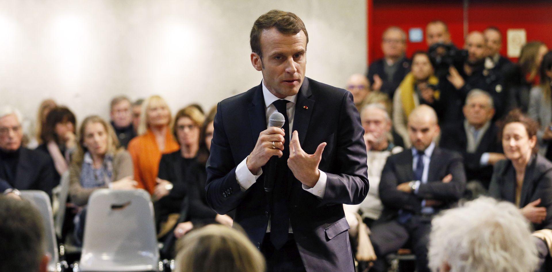 Macron poručio Sisiju da stabilnost ne dolazi bez ljudskih prava