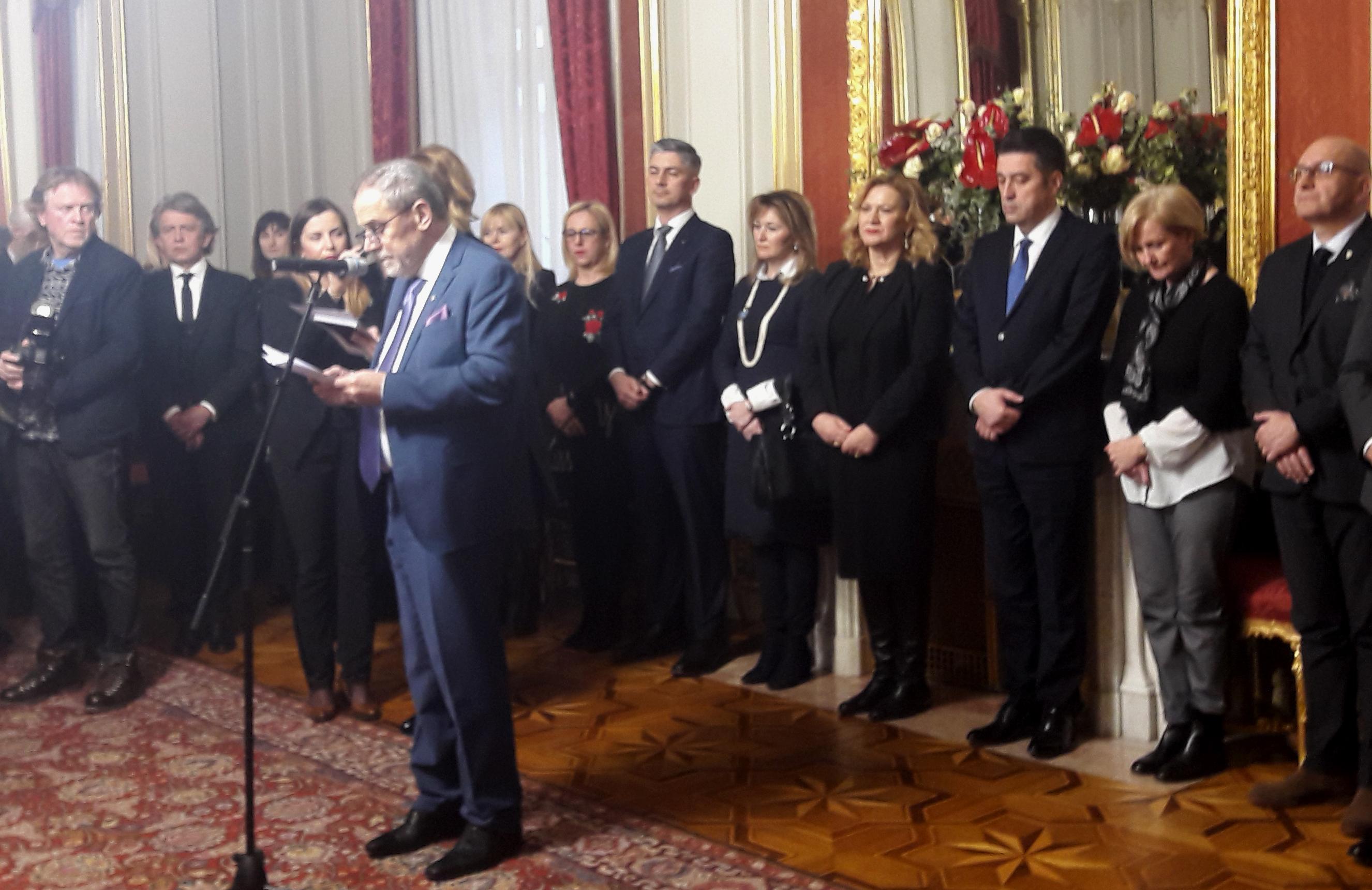Bandić priredio novogodišnji prijem za članove diplomatskog zbora