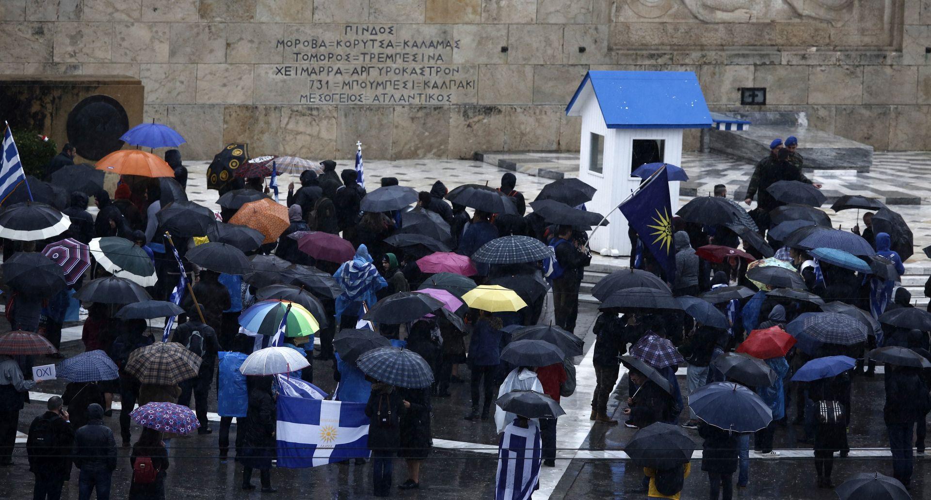 Grčki parlament dao zeleno svjetlo za novo ime Makedonije