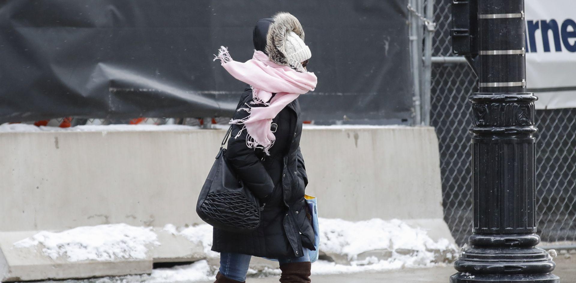 Val ekstremne hladnoće 'zaledio' sjever SAD-a