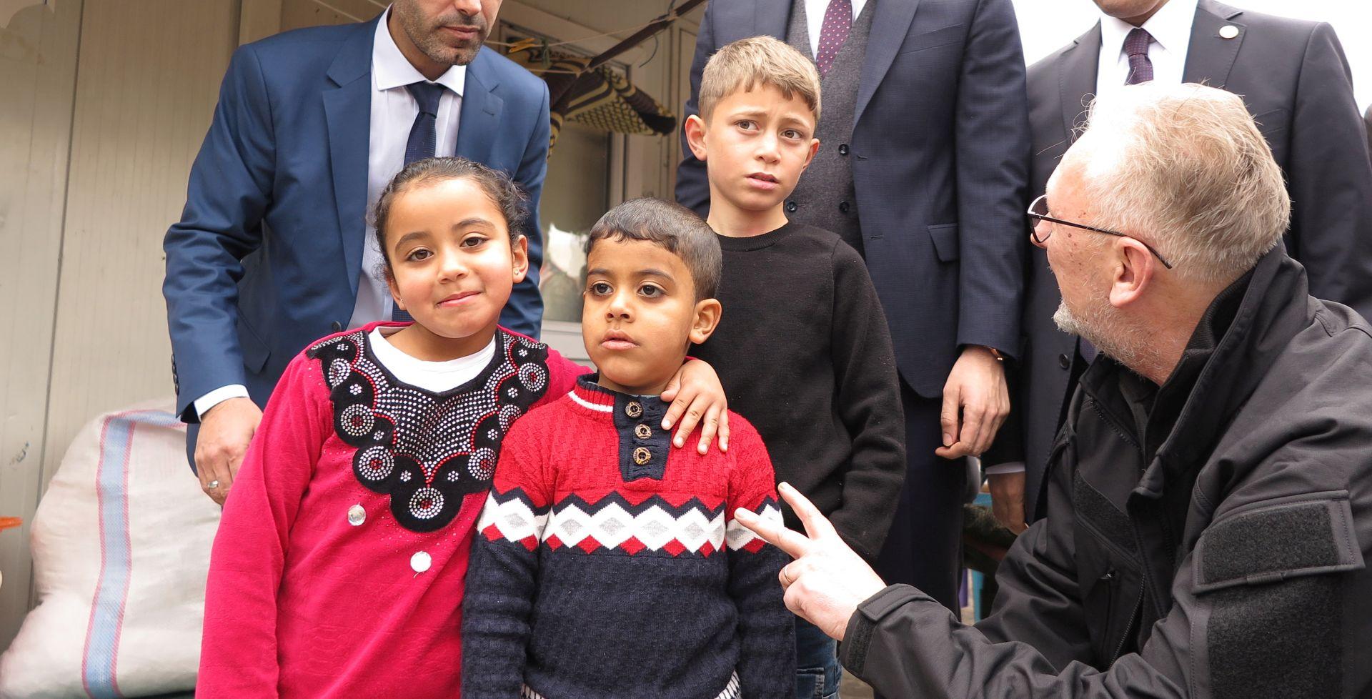 """BOŽINOVIĆ """"Turska ulaže velike napore u zbrinjavanju izbjeglica"""""""