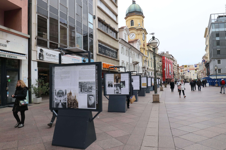 RIJEKA Na Korzu izložba povodom Dana sjećanja na žrtve Holokausta