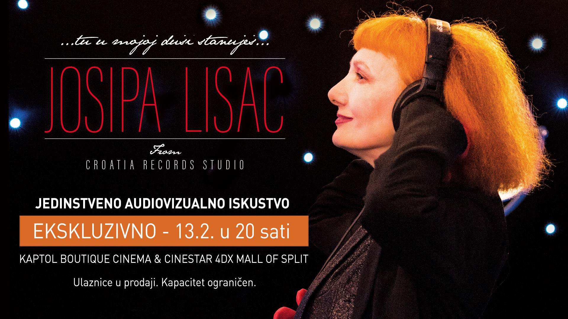 Glazbeni film s divom Josipom Lisac