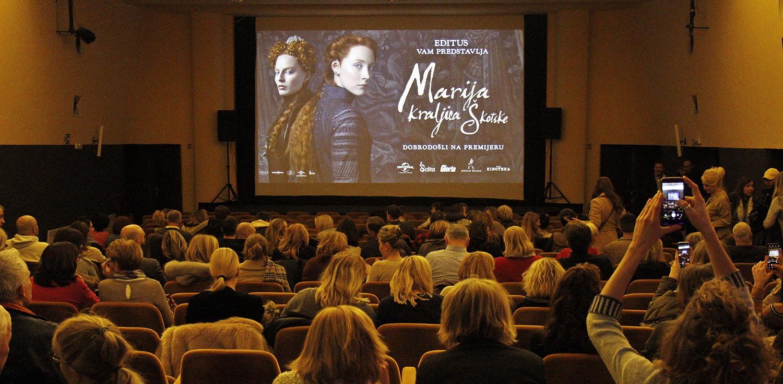 FOTO: Premijera povijesnog filma 'Marija kraljica Škotske'