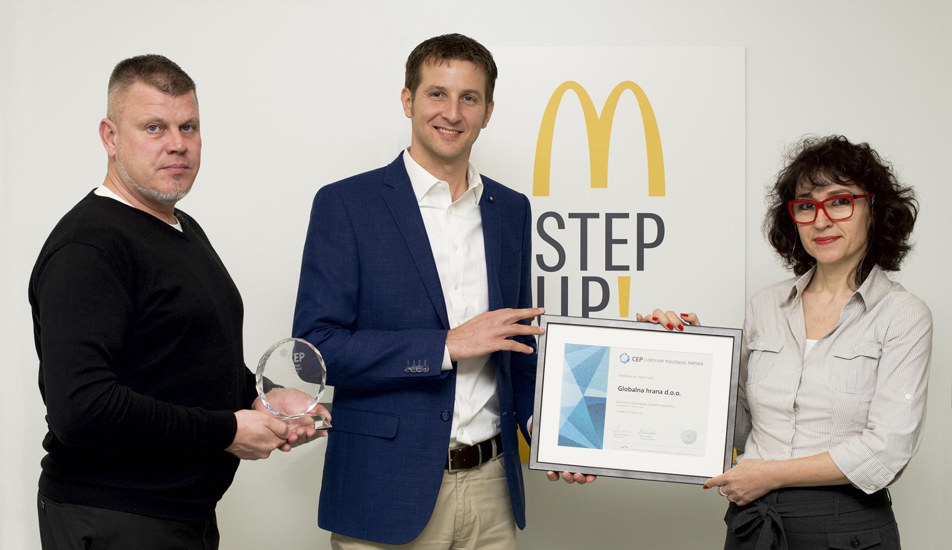 McDonald's ponosan na interno dijeljenje znanja i treninge zaposlenika