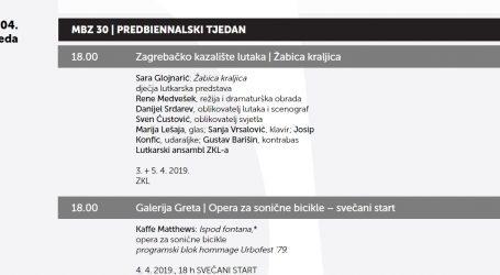 Program dječjih radionica, koncerata i predstava  Muzičkog bienalea