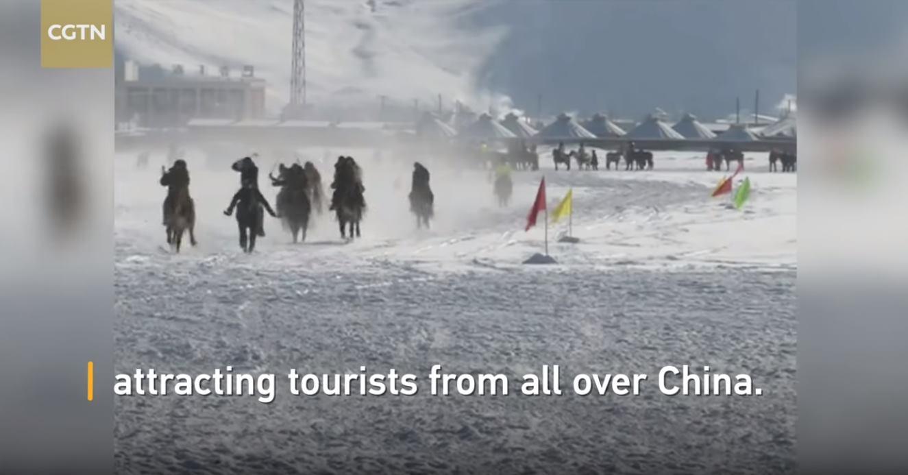 VIDEO: Nomadski sajam na -34 stupnjeva Celzijusa