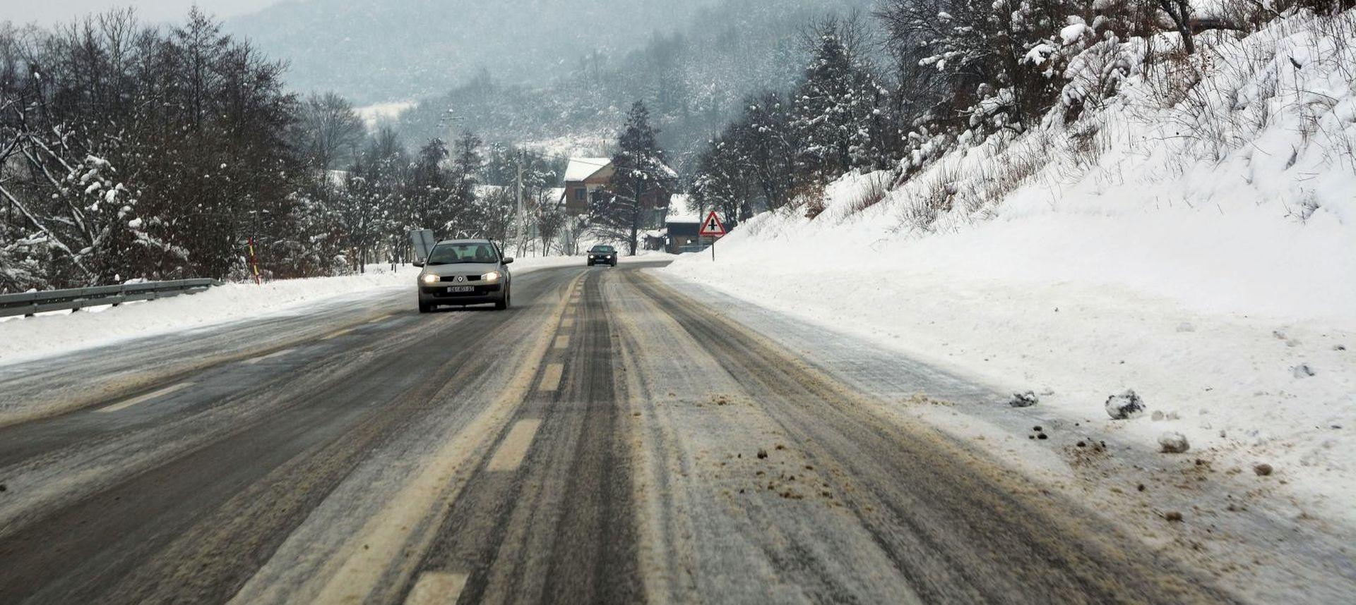 HAK upozorava na probleme u prometu zbog snijega