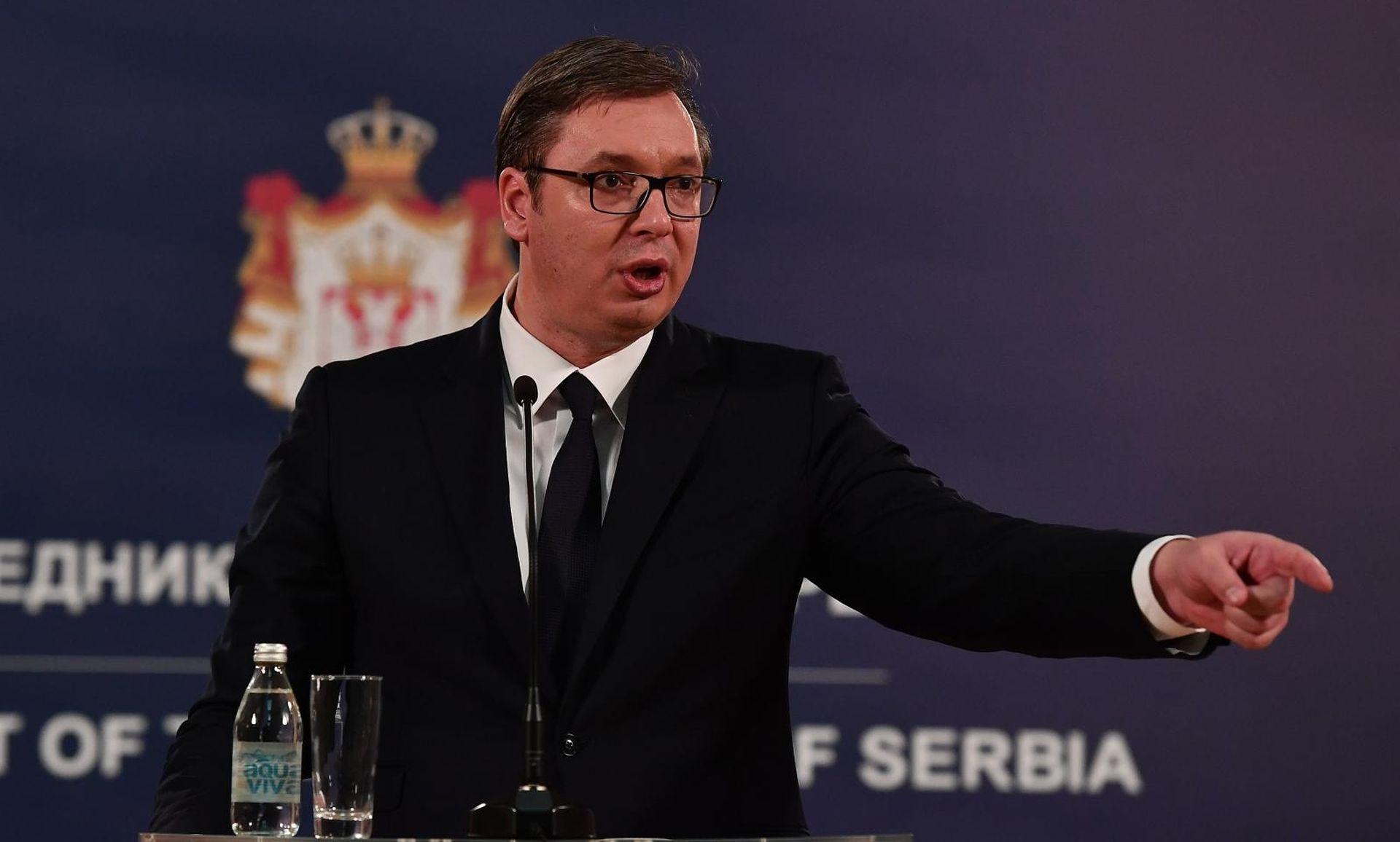 """VUČIĆ """"Srbi i Hrvati moraju drugačije o budućnosti"""""""