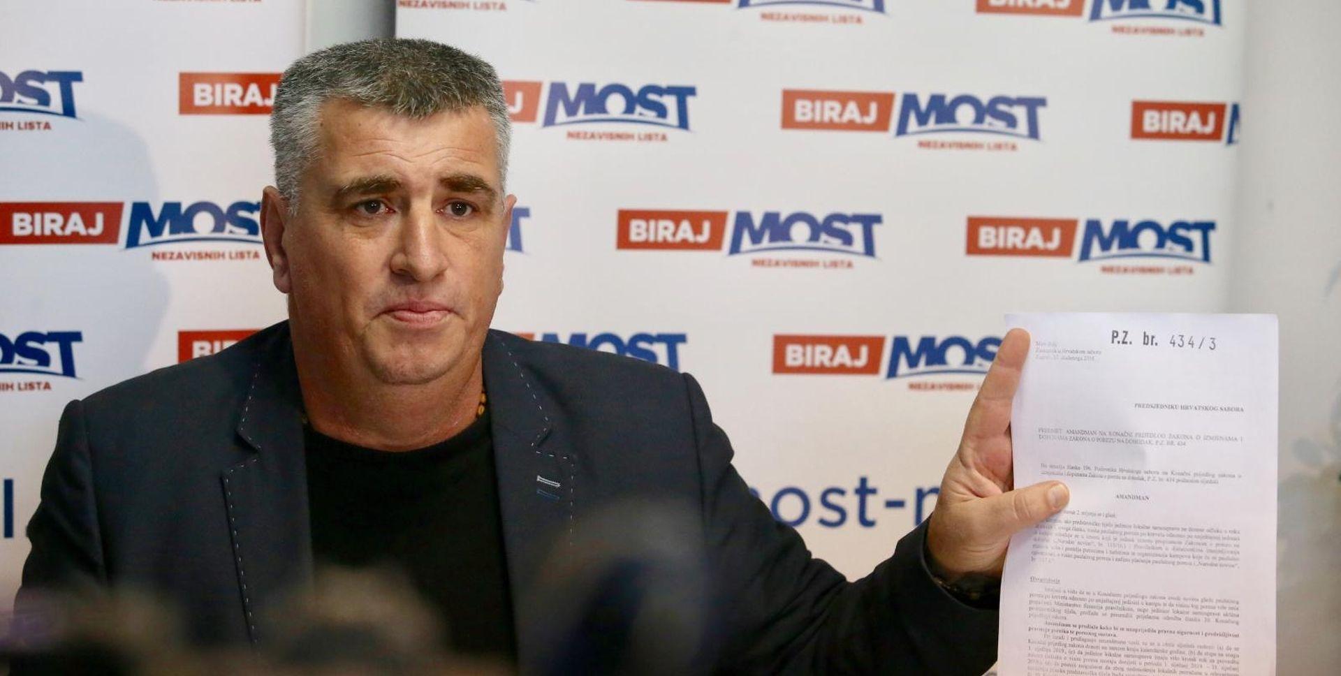 """BULJ """"U Hrvatskoj treba promijeniti izborni zakon"""""""