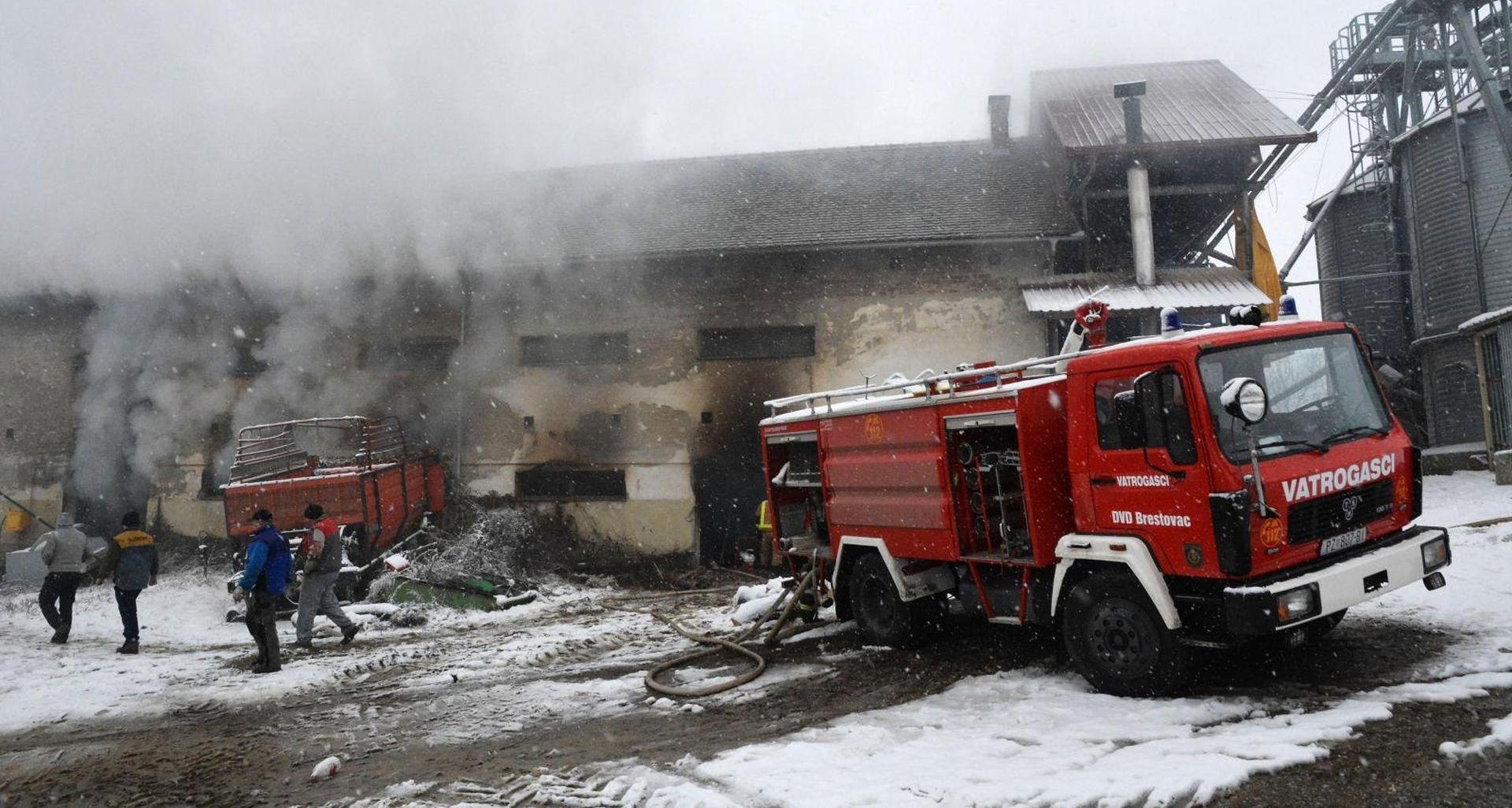 Na Eko imanju Željka Mavrovića gore bale industrijske konoplje