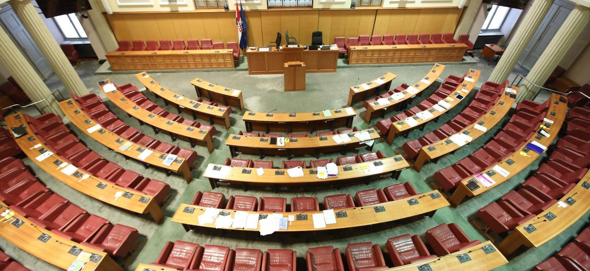 Sabor danas o financiranju stranaka i referendumu