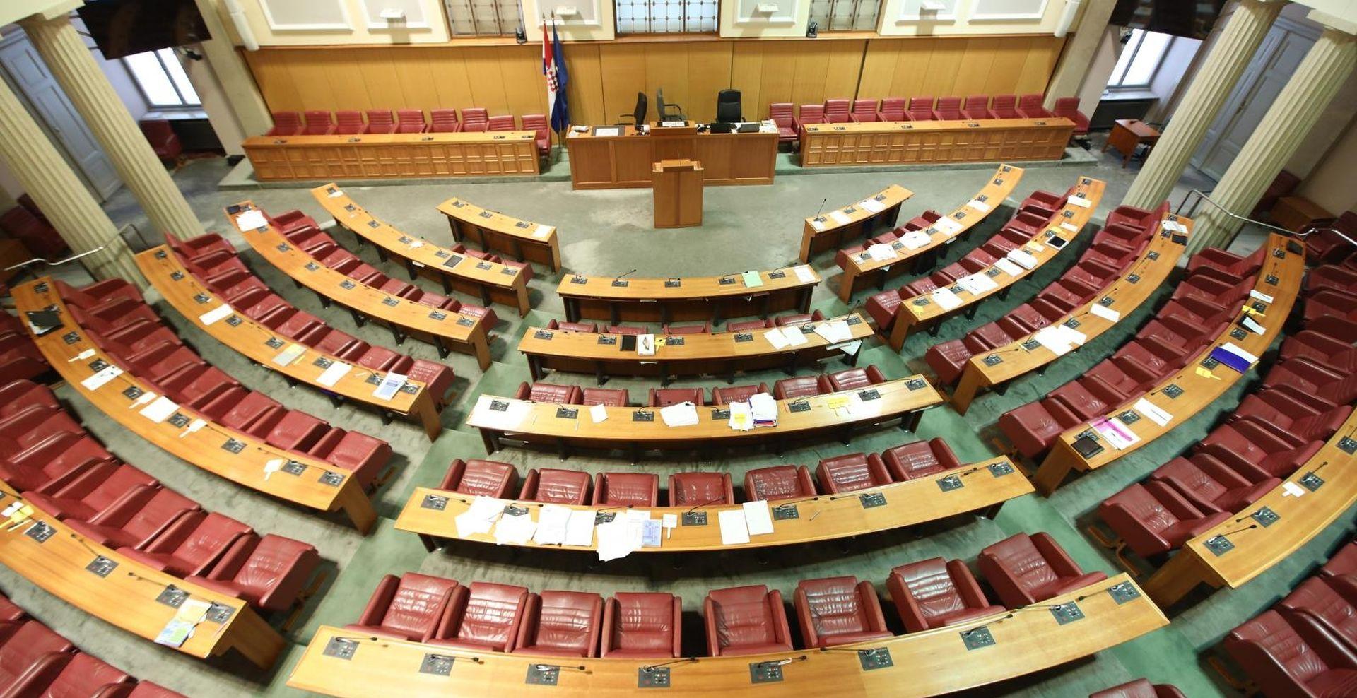Sabor u srijedu počinje novu parlamentarnu sezonu