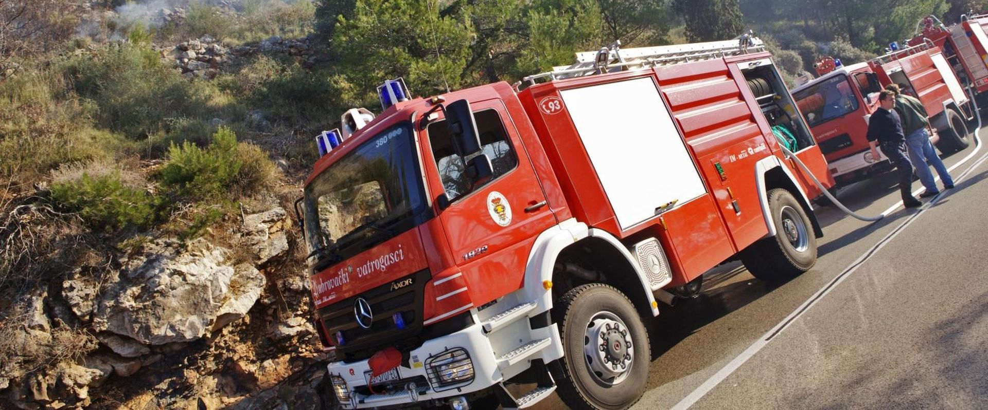 Požar u HE Plat, ima ozlijeđenih, troje zarobljeno unutar postrojenja