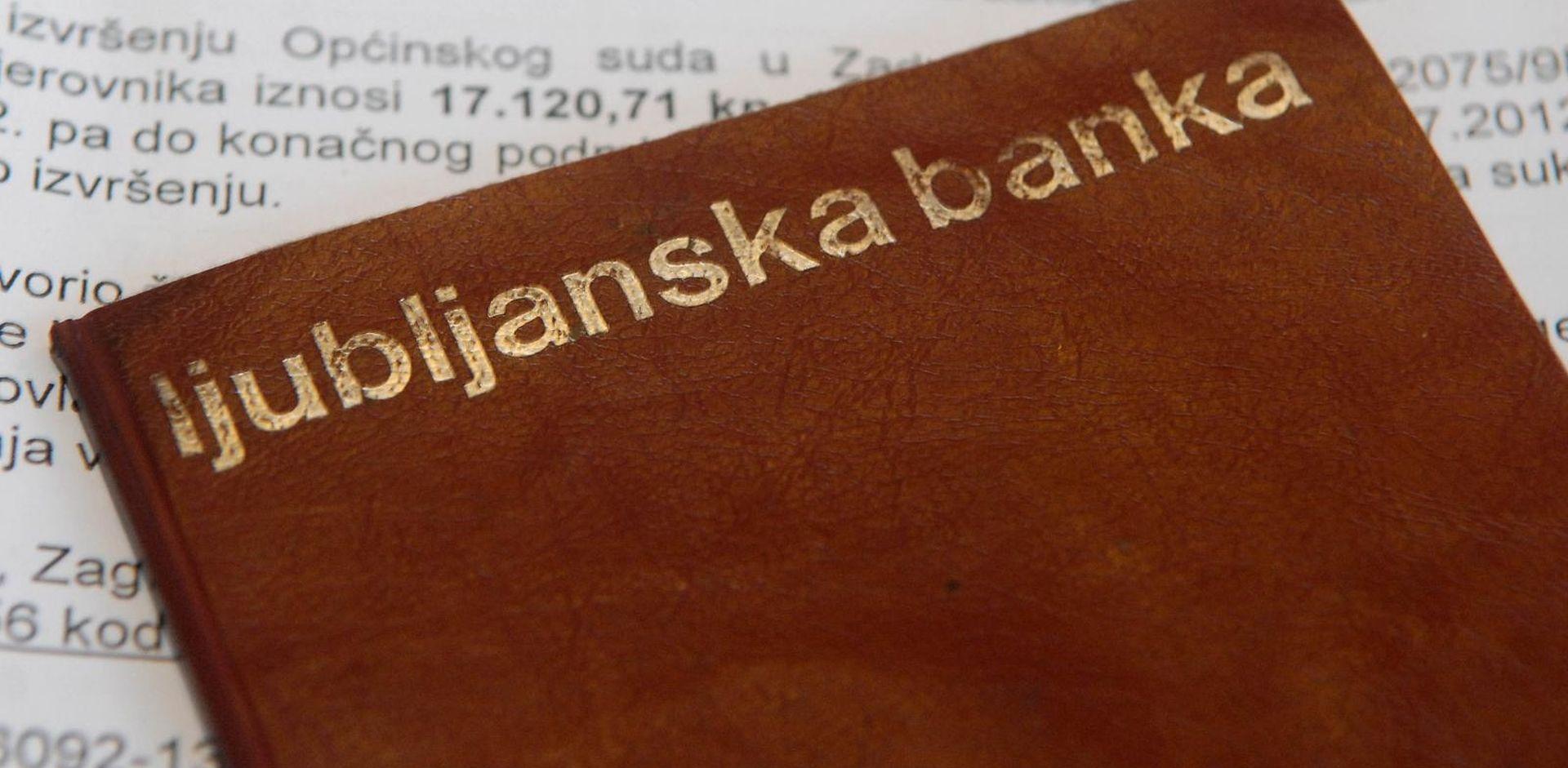 Slovenija predala Hrvatskoj prosvjednu notu zbog Ljubljanske banke