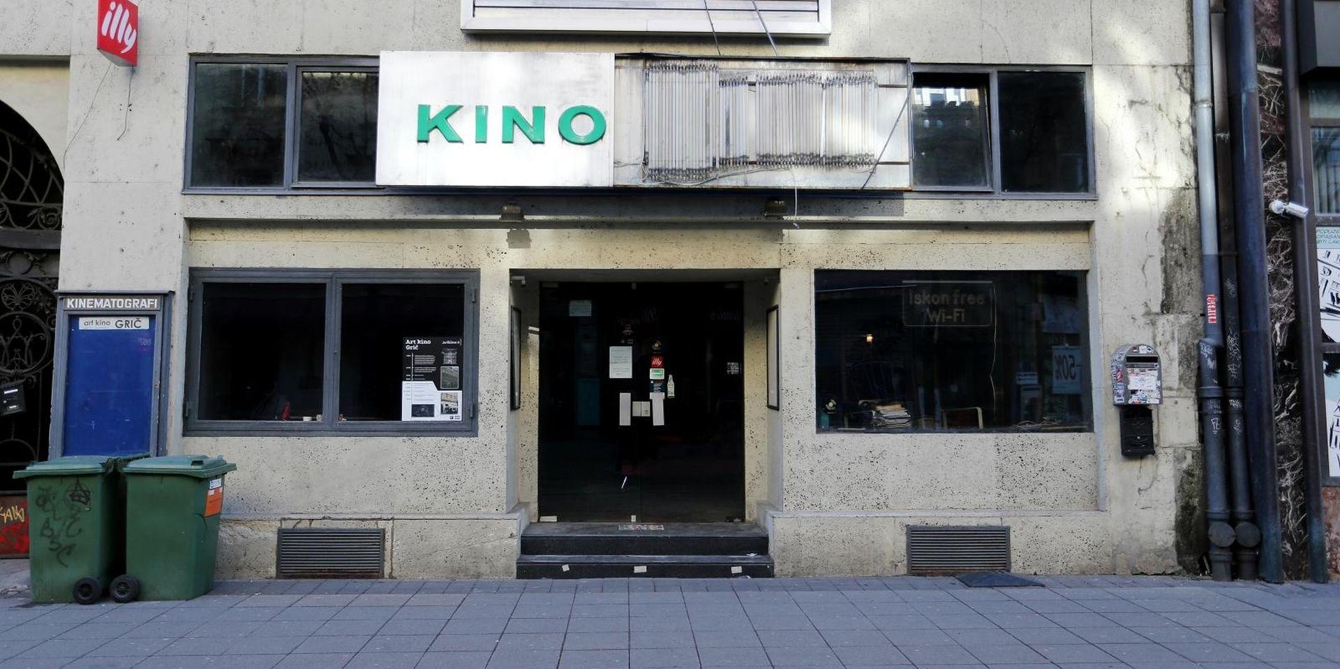 Zatvoreno kultno zagrebačko Kino Grič