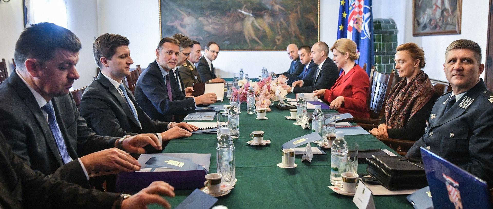 Održana sjednica Vijeća za obranu, Krstičević najavio novi proces