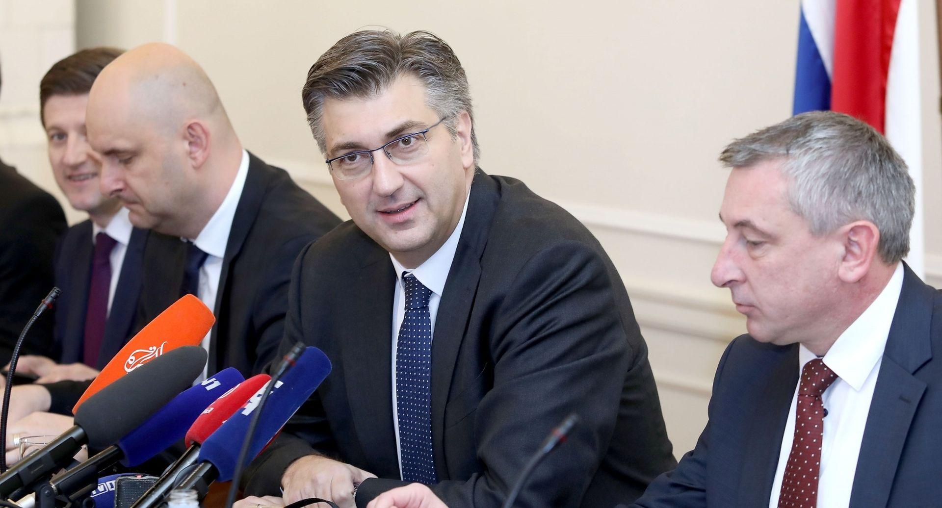 Plenković se sastao s predstavnicima Hrvatske zajednice županija