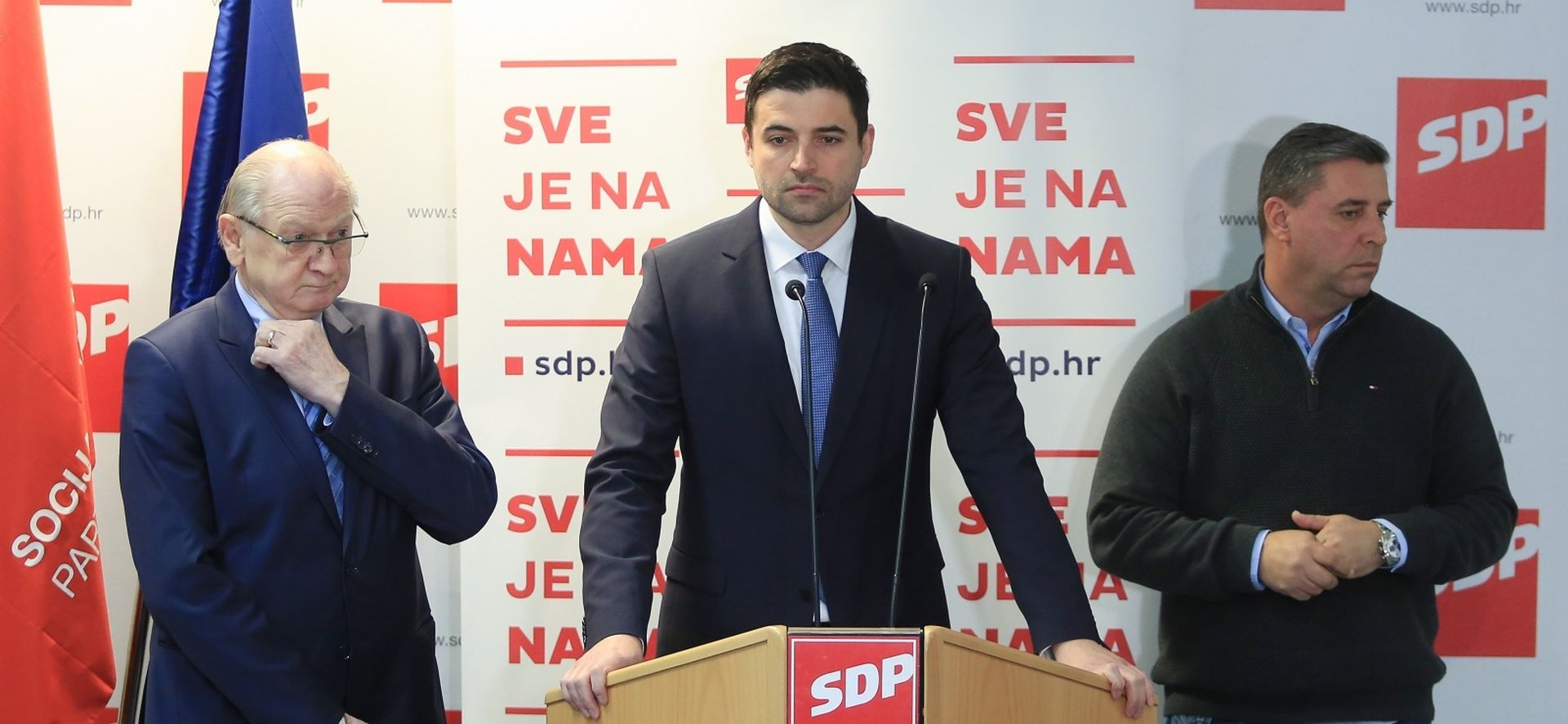 "BERNARDIĆ ""SDP traži hitnu ostavku Krstičevića"""