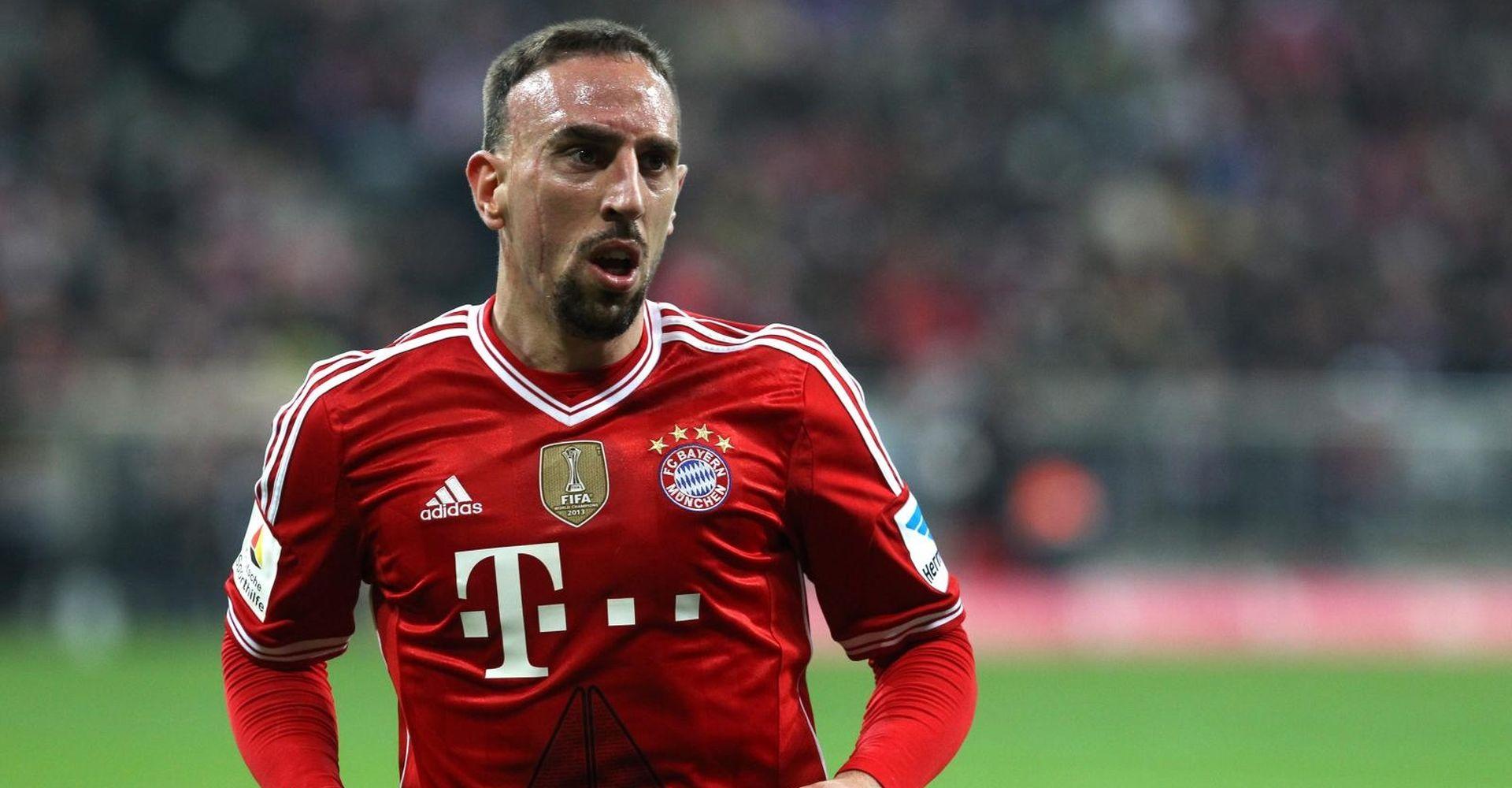 Ribery izazvao skandal na društvenim mrežama