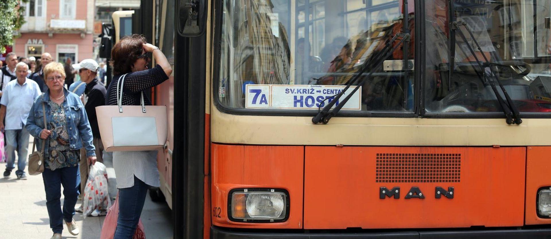 Autobus u Rijeci zapalio se tijekom probne vožnje, nema ozlijeđenih