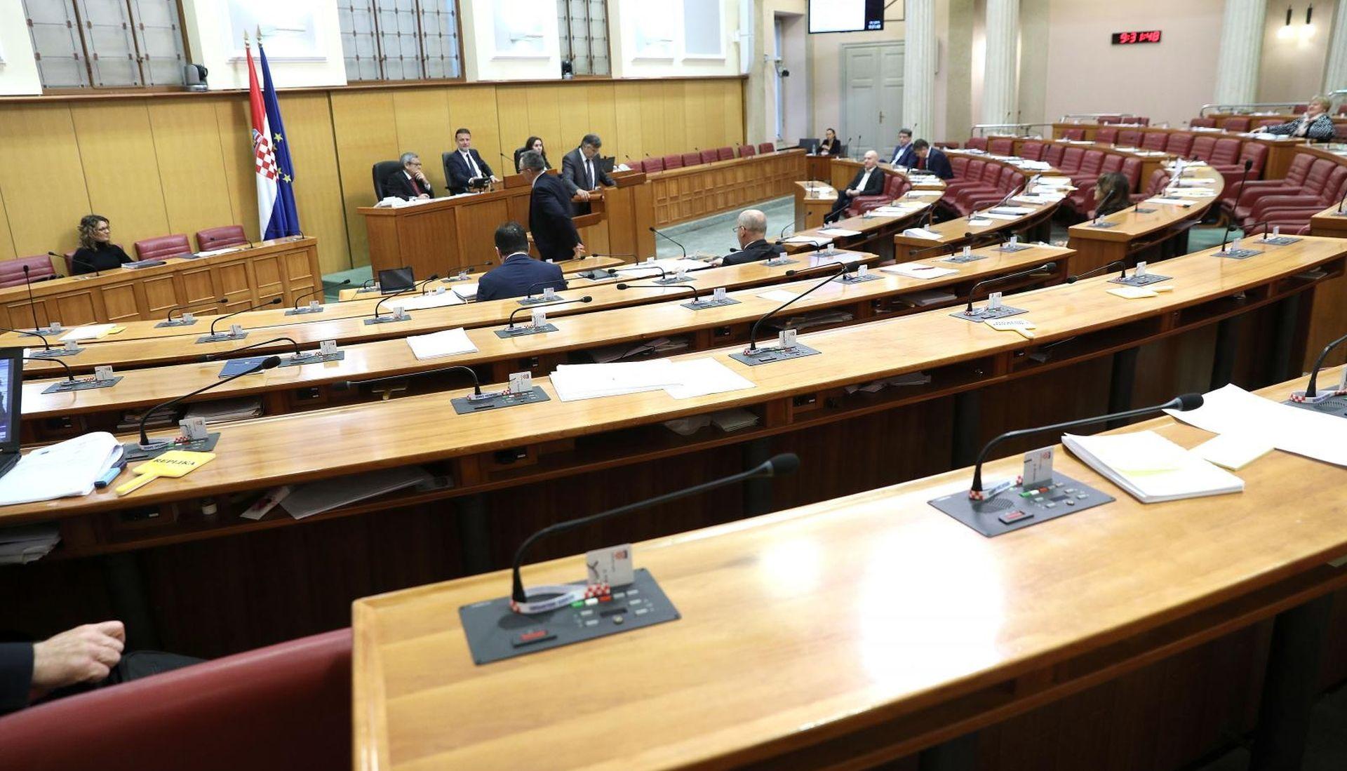 Sabor u srijedu o Zakonu o podacima i informacijama u zdravstvu