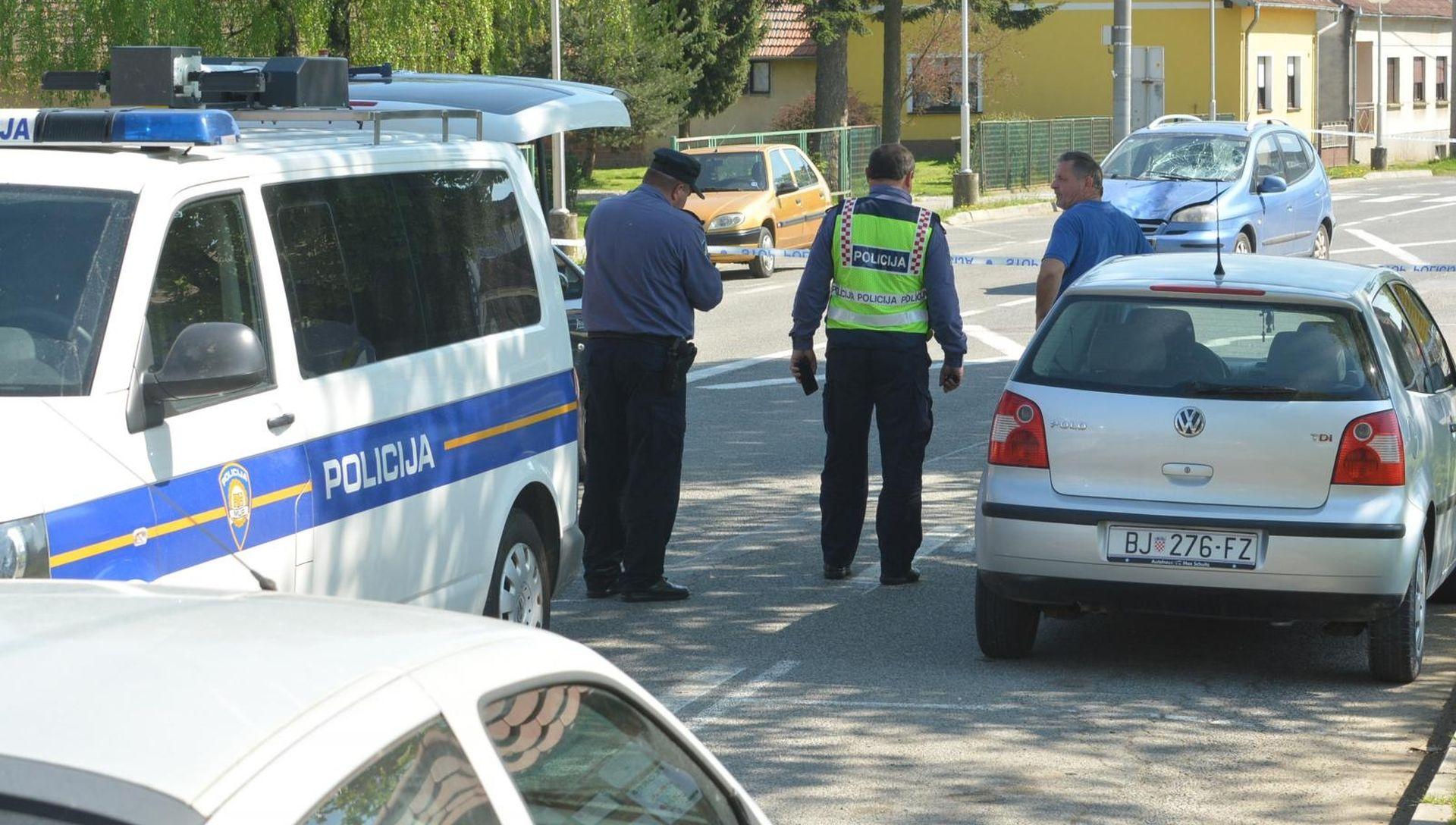 U prometnoj nesreći u Bjelovaru ozlijeđeno dvoje djece