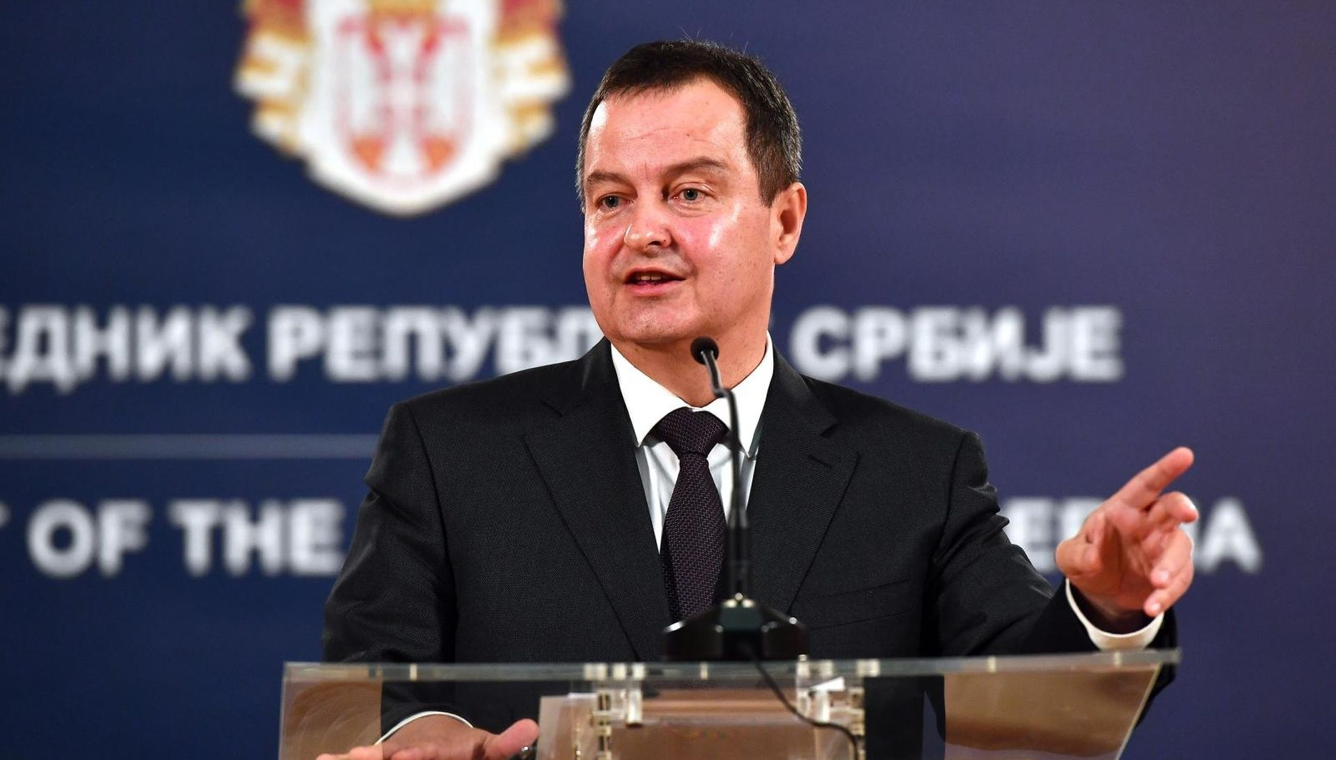 """Dačić nazvao """"bestidnom"""" Plenkovićevu izjavu o mirnoj reintegraciji Srba"""