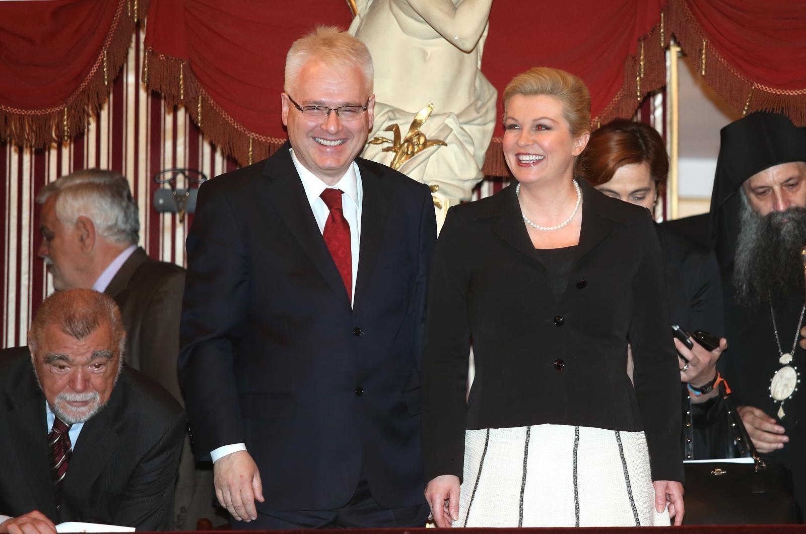 Predsjednica ulazi u izbornu godinu s lošijim rejtingom od Josipovića u istom razdoblju mandata