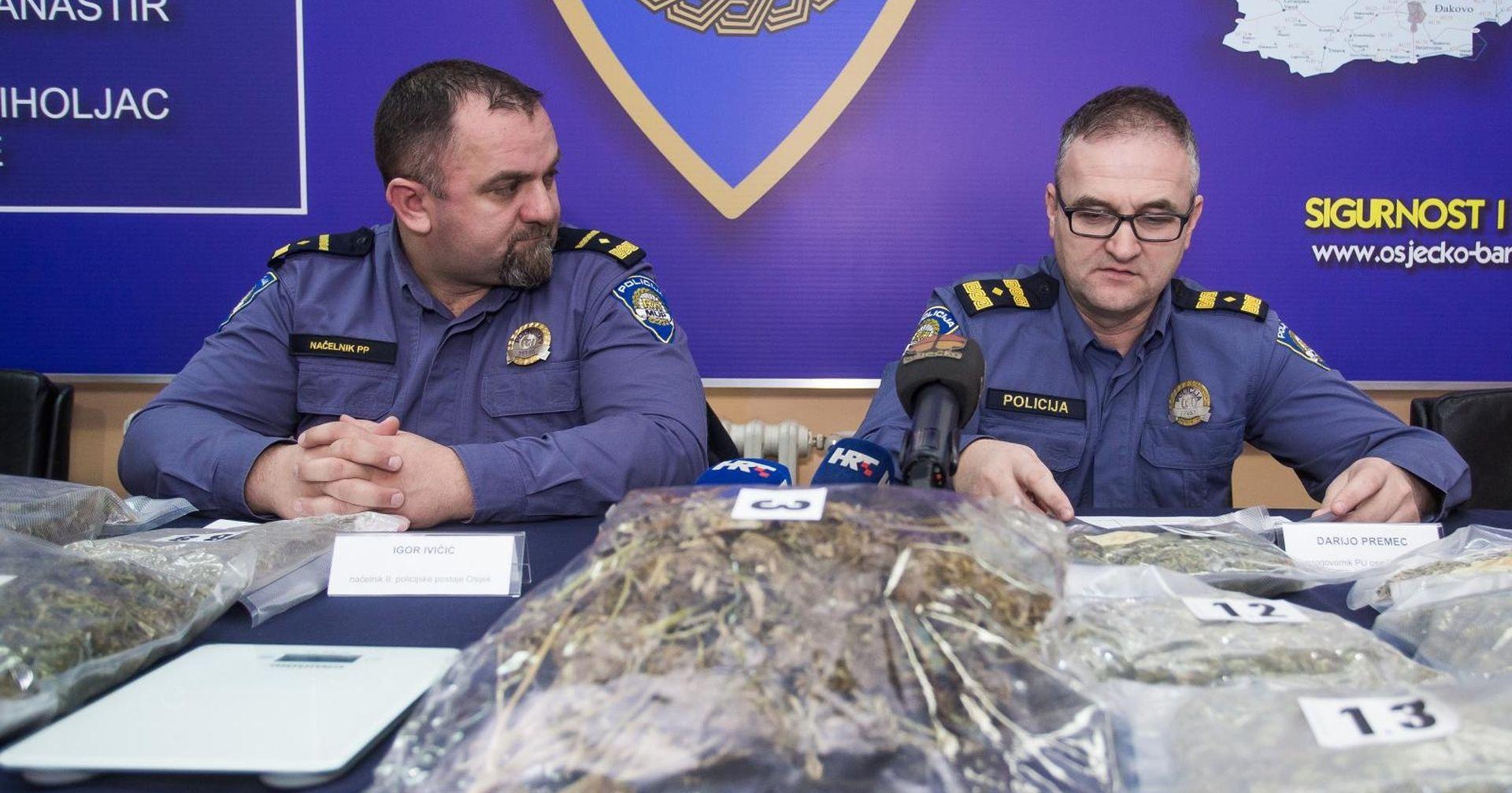 58-godišnjak uhićen s više od pet i pol kilograma marihuane