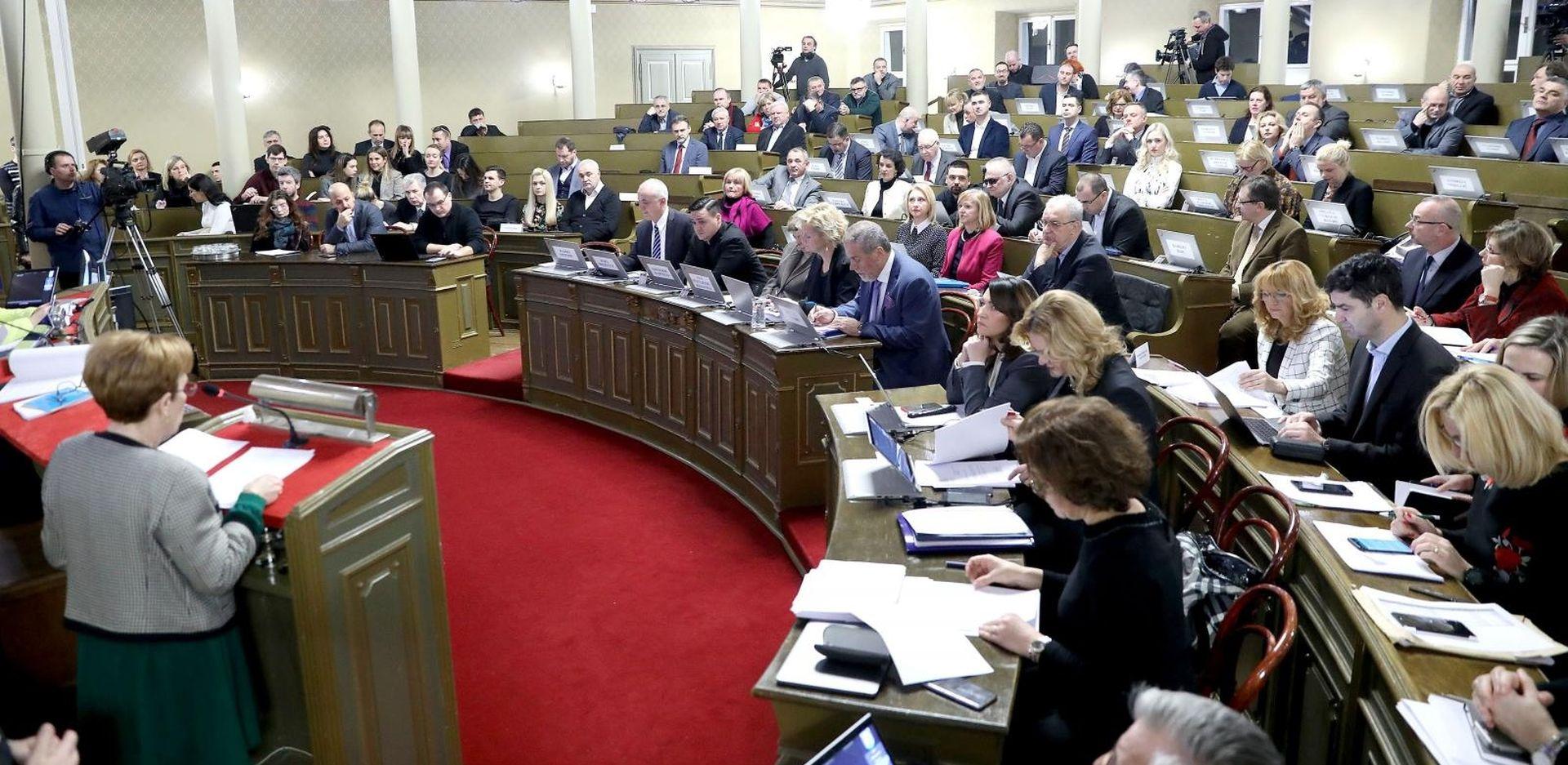 Počela 19. sjednica zagrebačke Gradske skupštine