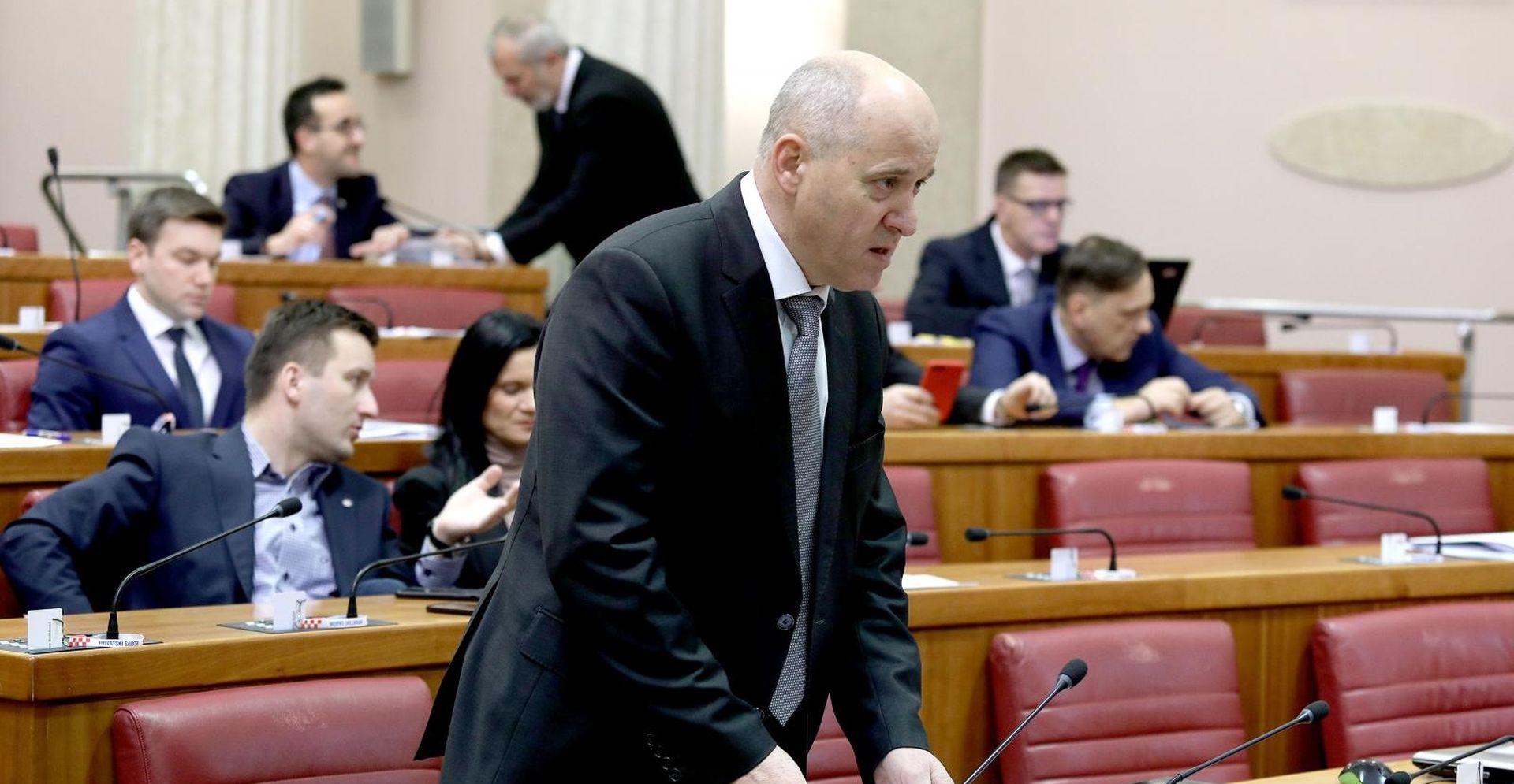 """BAČIĆ """"Bernardić je frustriran, neutemeljeno se obrušava na Vladu"""""""
