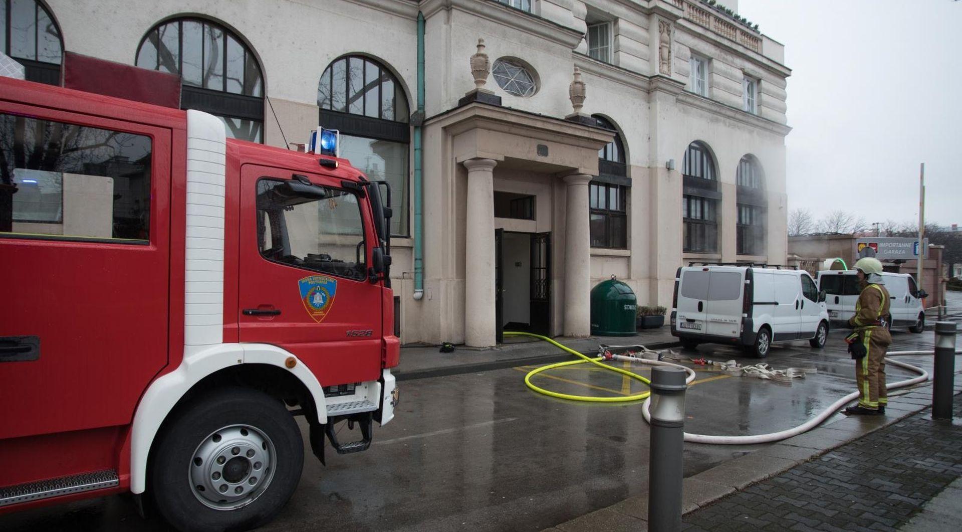Buknuo požar u podrumu hotela Esplanade