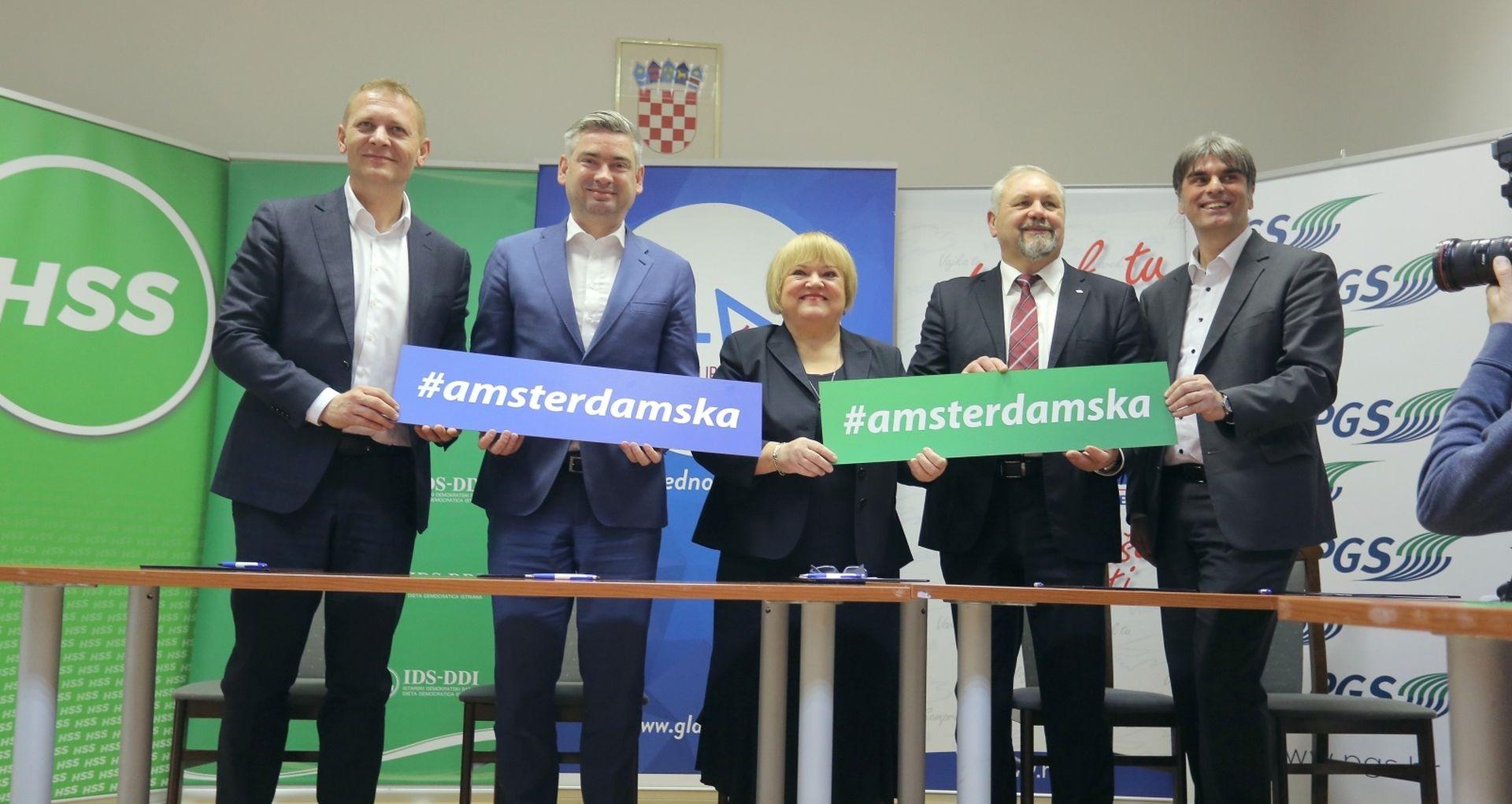 HSU se priključio Amsterdamskoj koaliciji
