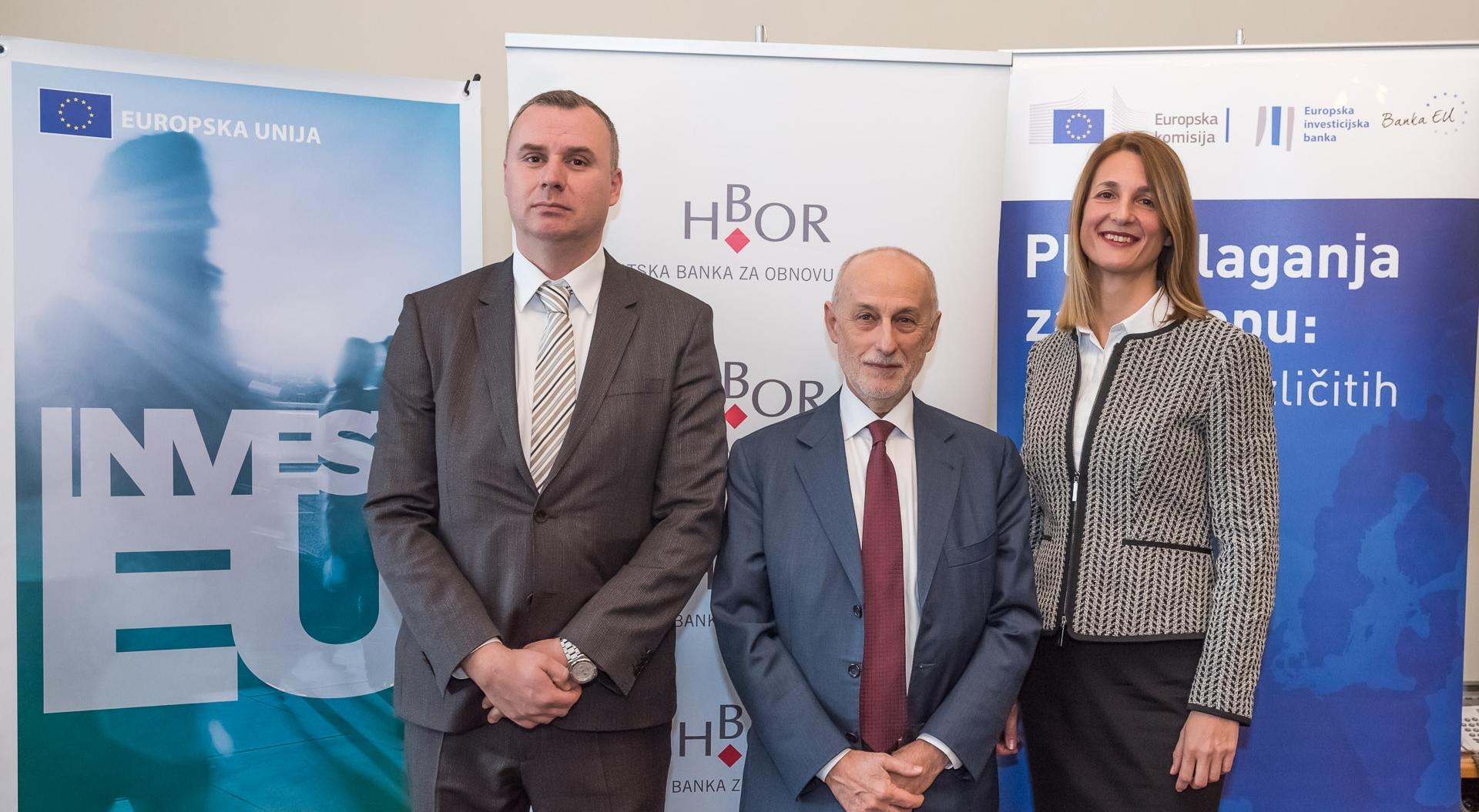 EIF i HBOR u Hrvatskoj potiču razvoj mala i srednja te srednje kapitalizirana poduzeća