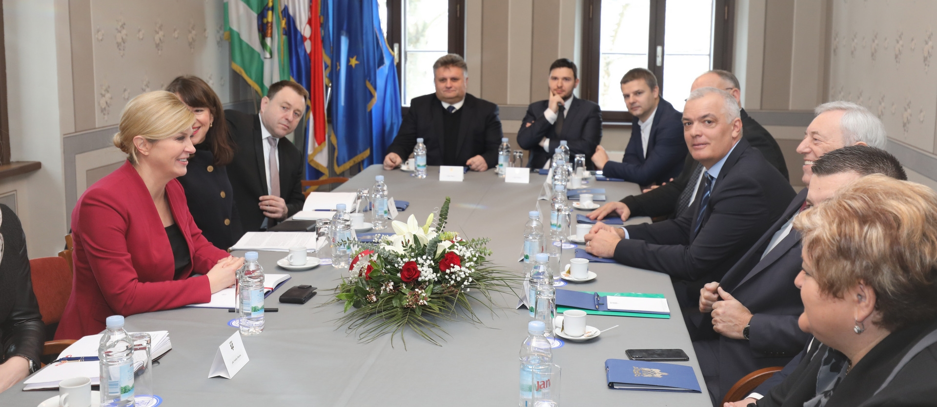 Predsjednica Kolinda Grabar-Kitarović posjetila Ivanić-Grad