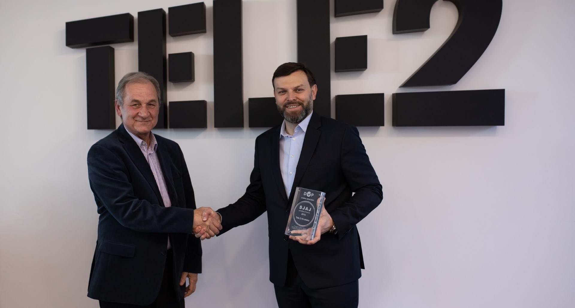Tele2 primio novo priznanje za društveno odgovorno poslovanje i održivost