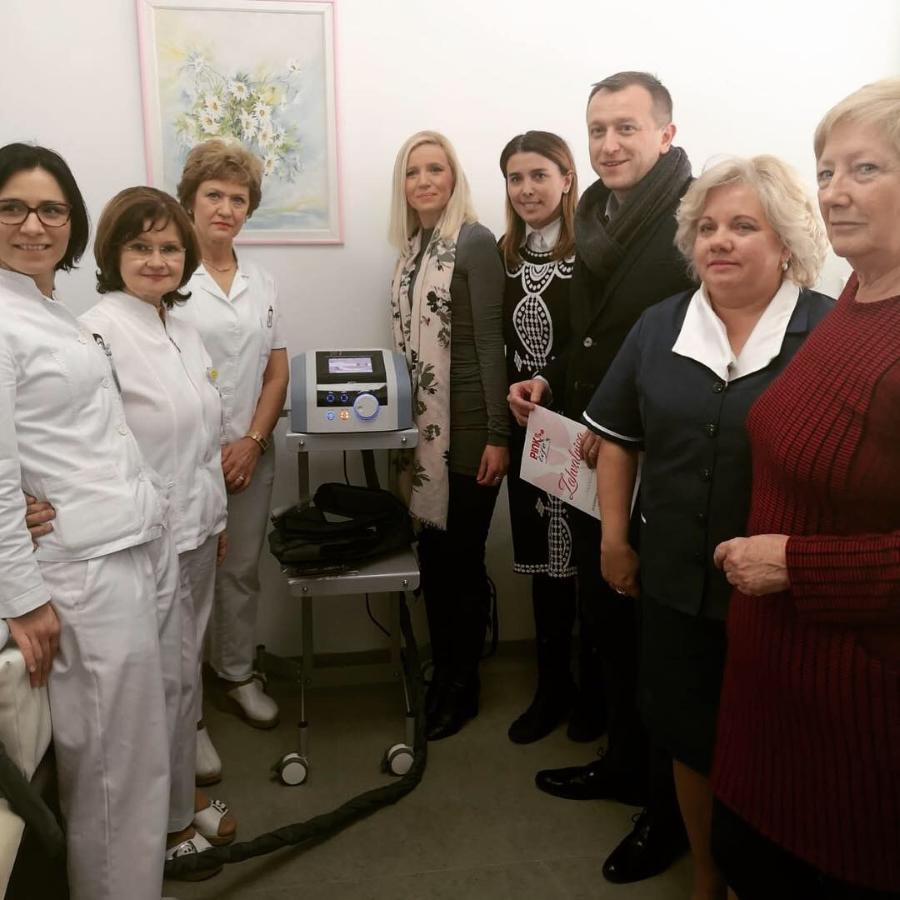 Udruga P.I.N.K. life donirala Zavod za fizikalnu medicinu i rehabilitaciju KBC-a Osijek