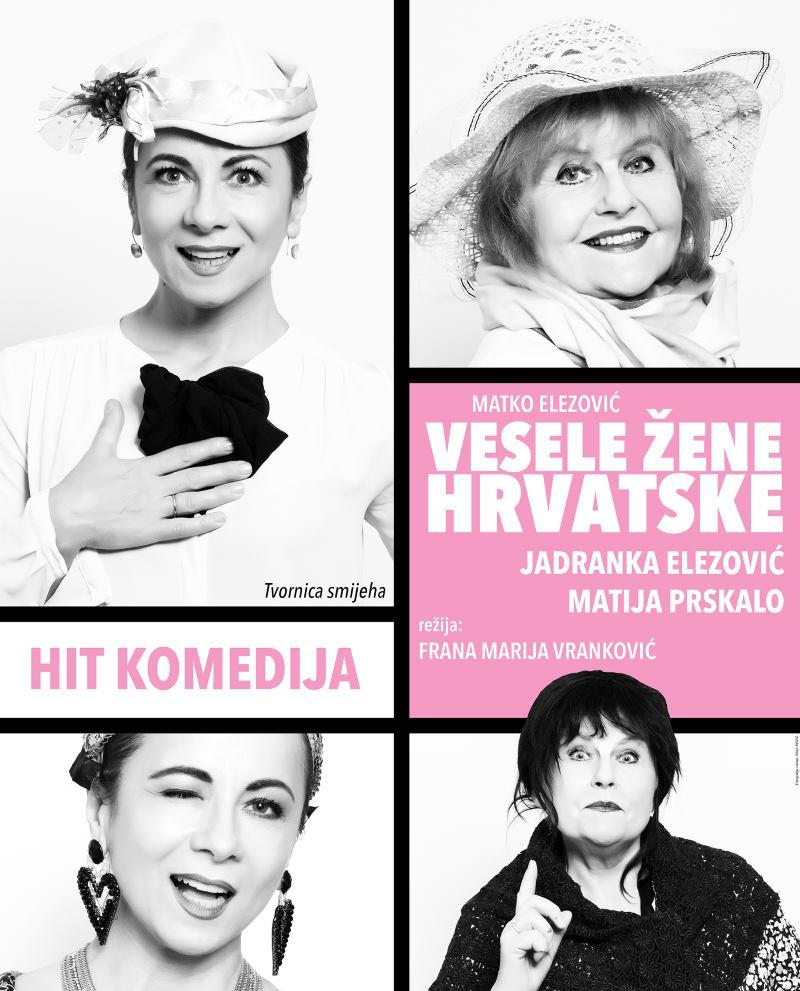Deset godina hit komedije 'Vesele žene Hrvatske'