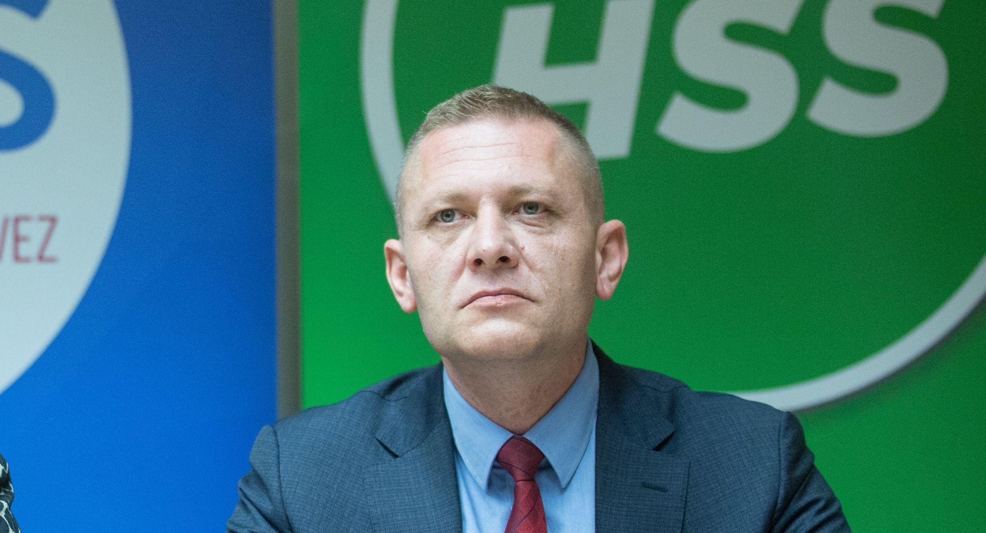 HSS Stranački front protiv Kreše Beljaka