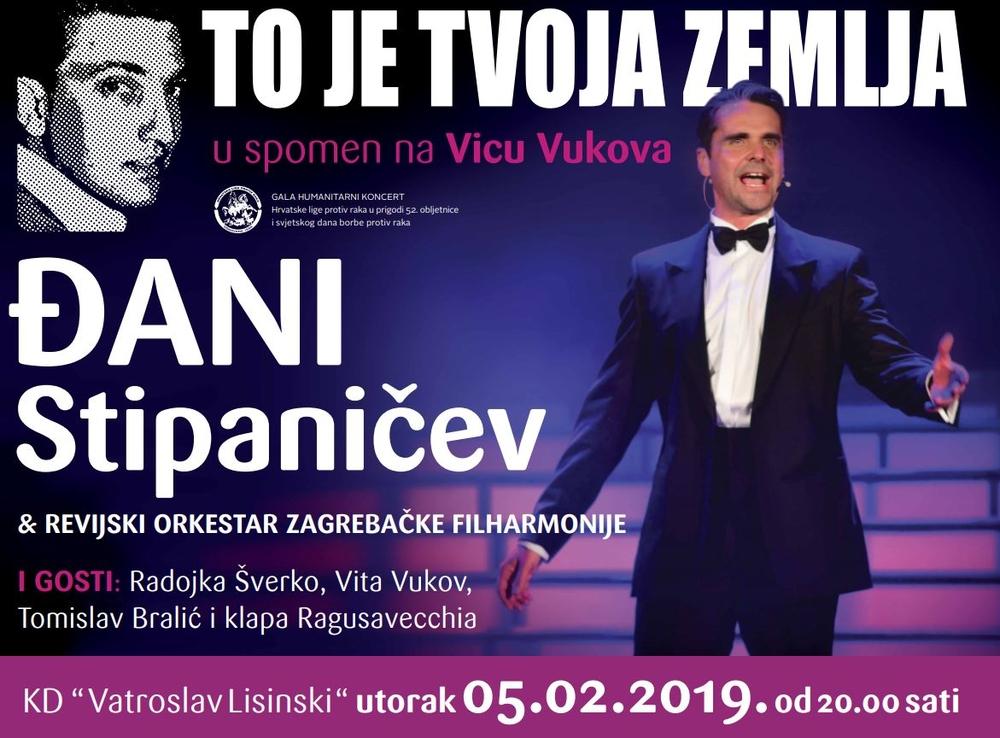 Đani Stipaničev priprema jednu sasvim posebnu večer