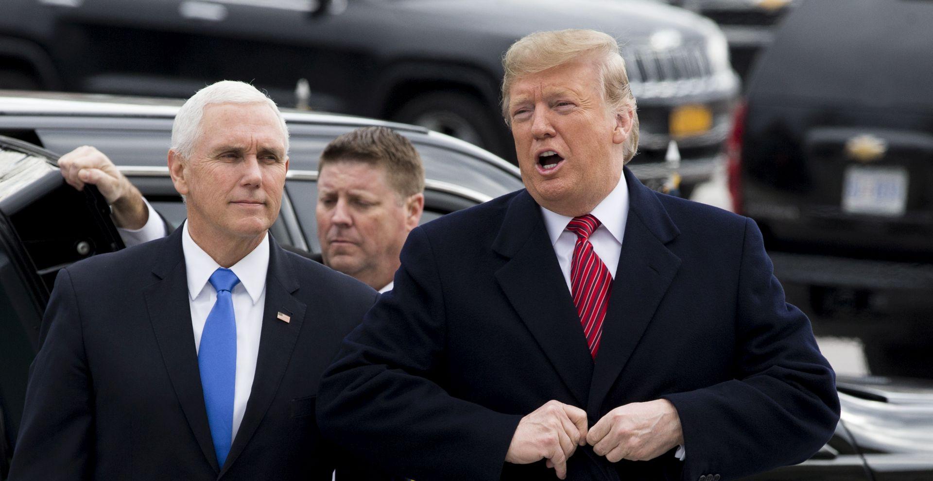 Trump prekinuo sastanak s demokratima u vezi sa zidom