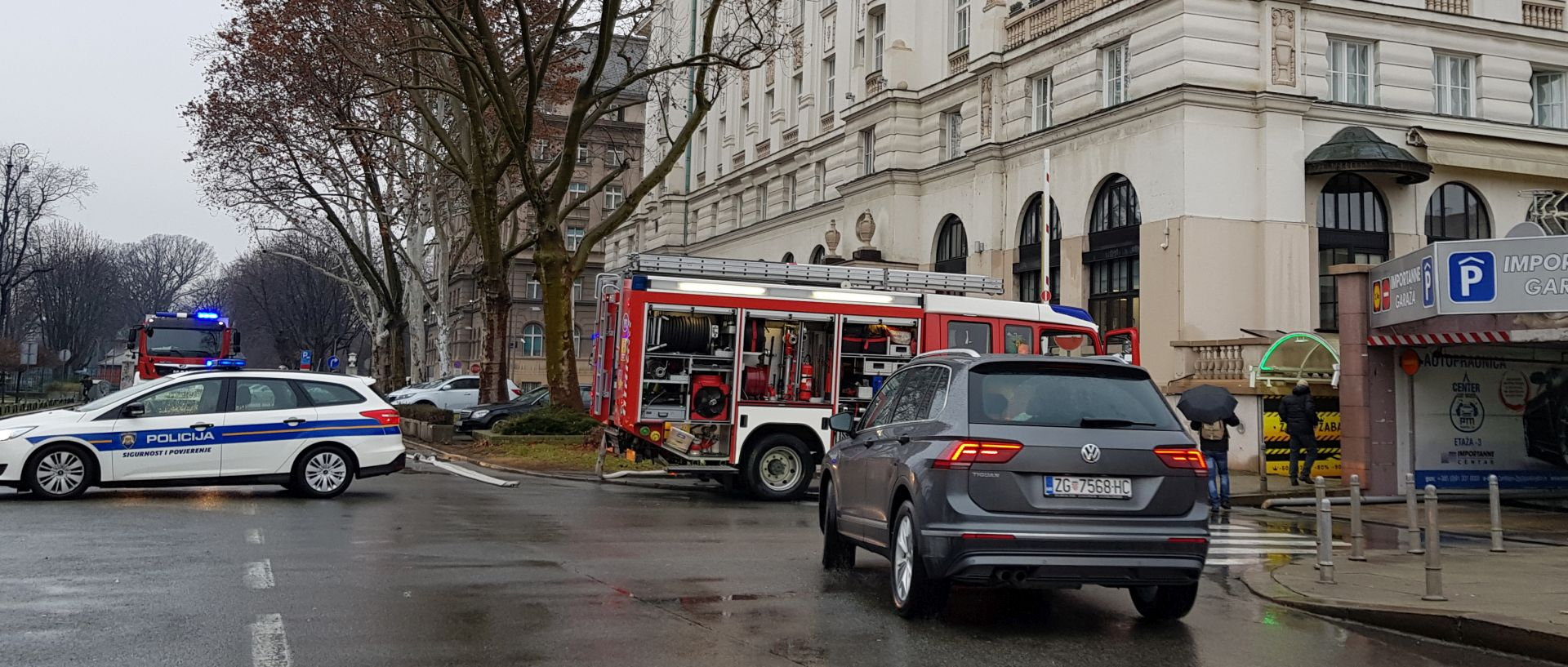 Požar u hotelu Esplanade