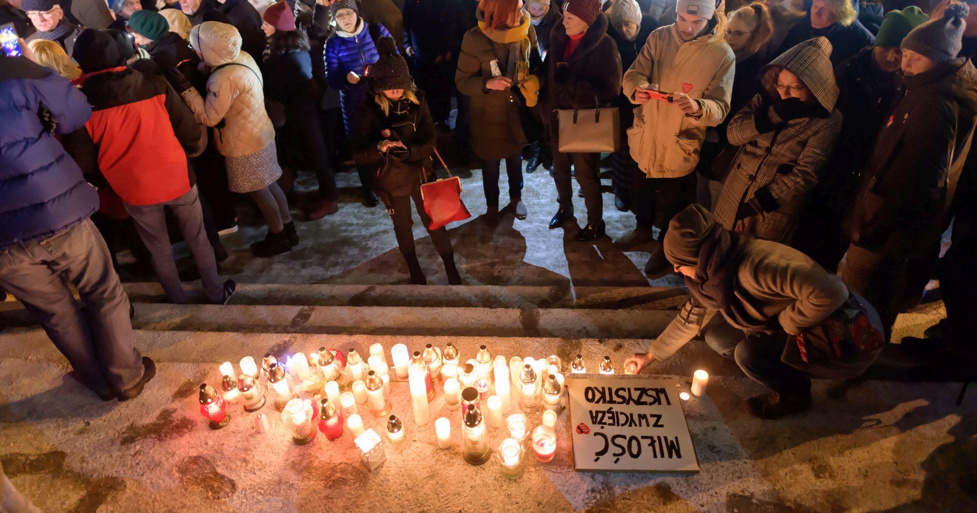 Prosvjedi nakon ubojstva gradonačelnika Gdanjska