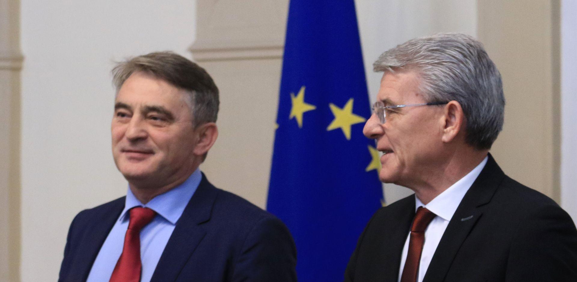 Džaferović i Komšić za BiH u NATO-u, Srbi protiv