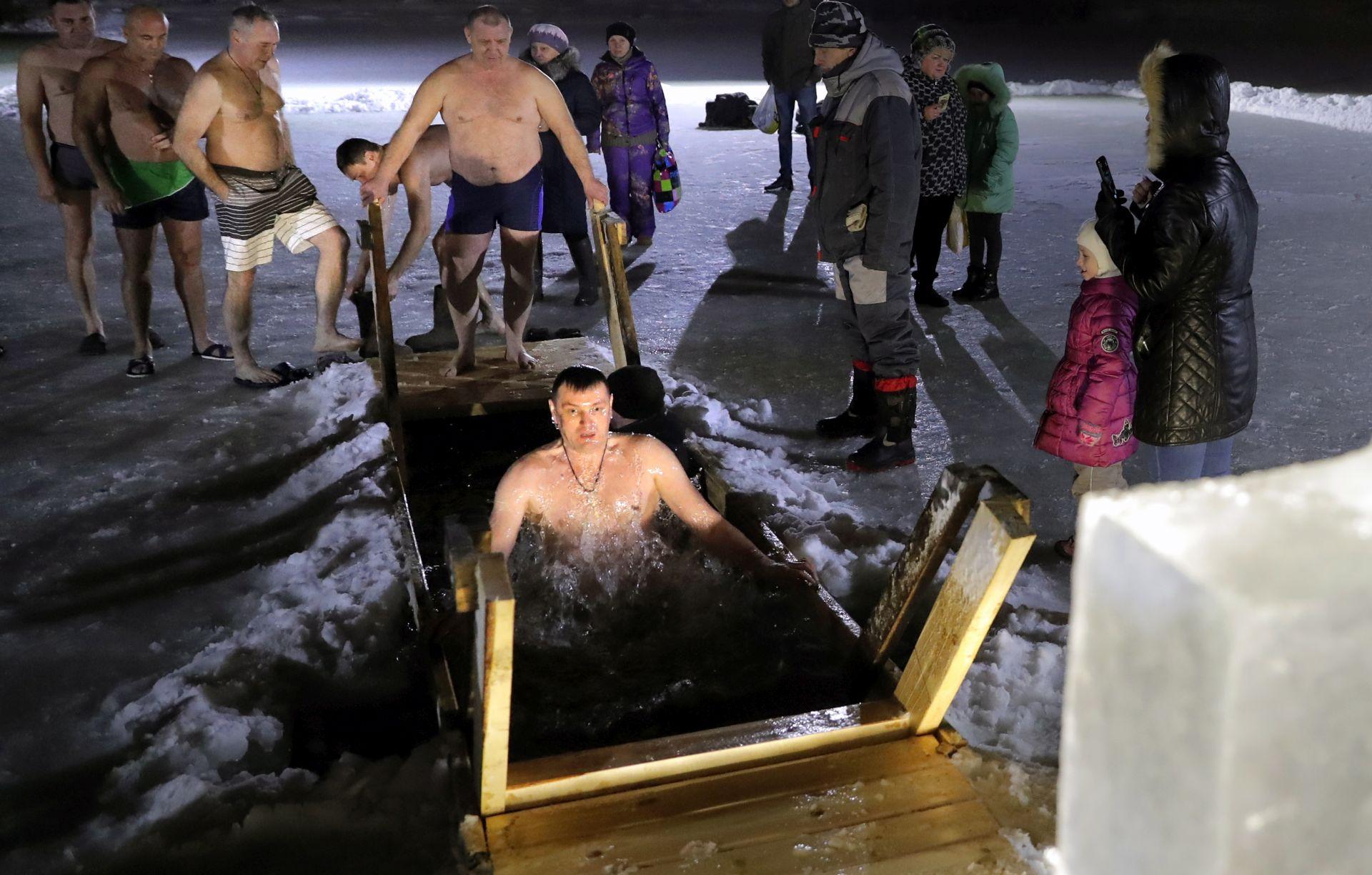 """BOGOJAVLJENJE """"Tradicionalno kupanje u ledenoj vodi"""""""