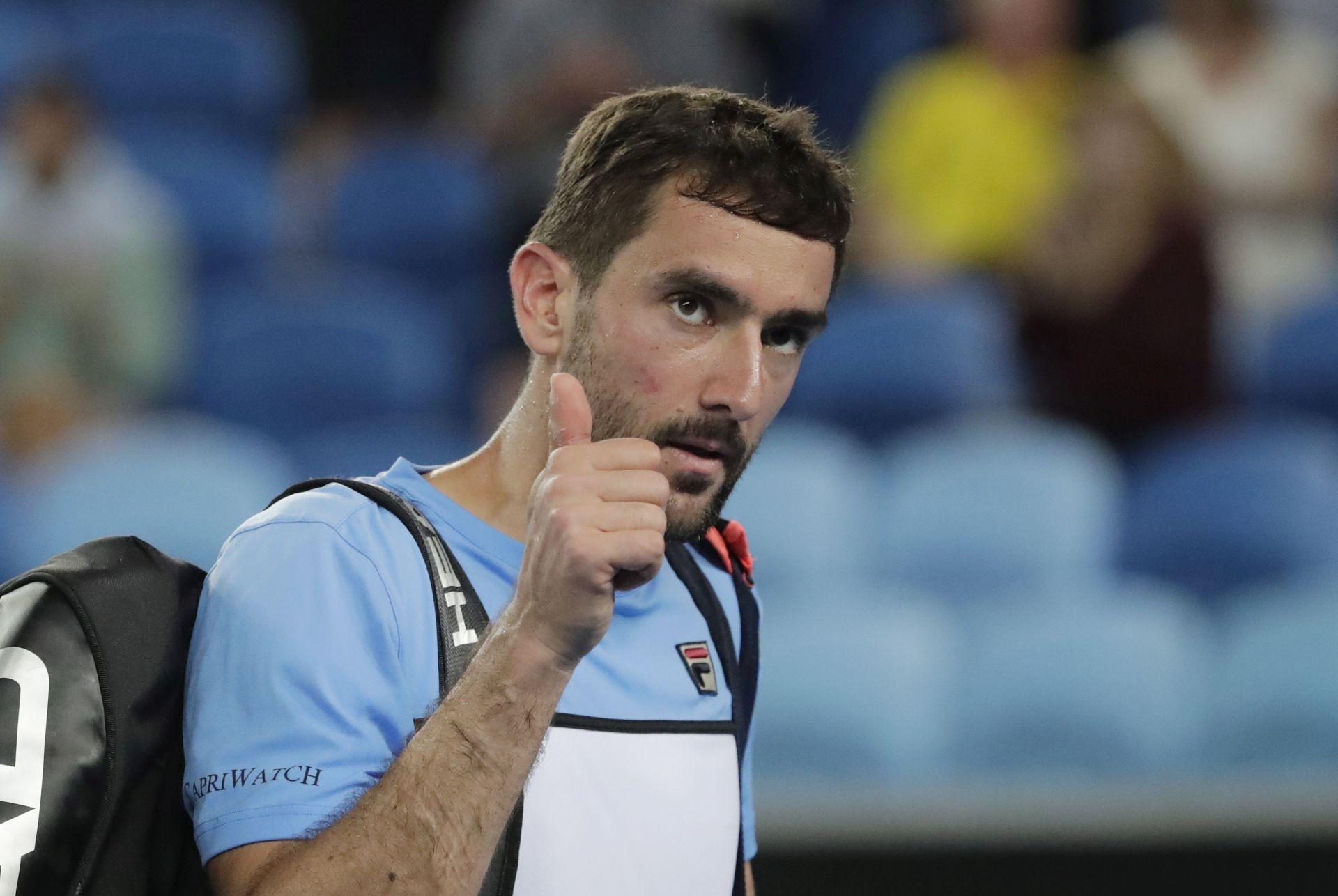 ATP: Čilić pao na 10. mjesto, Ćorić na 13.